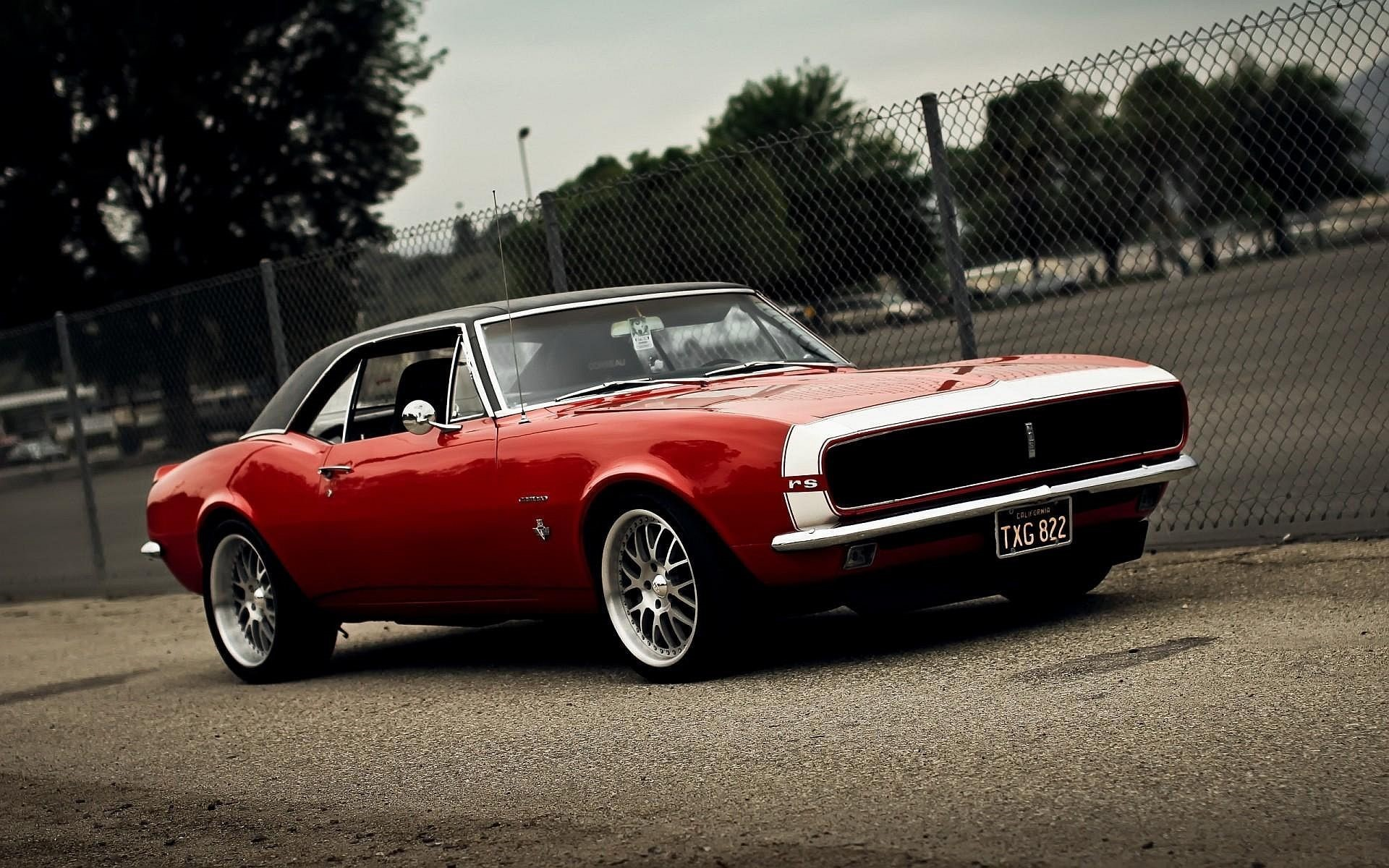 Chevy Muscle Car iphone Wallpaper