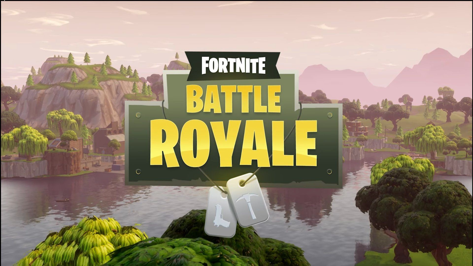 Fortnite Battle Royale HD Background