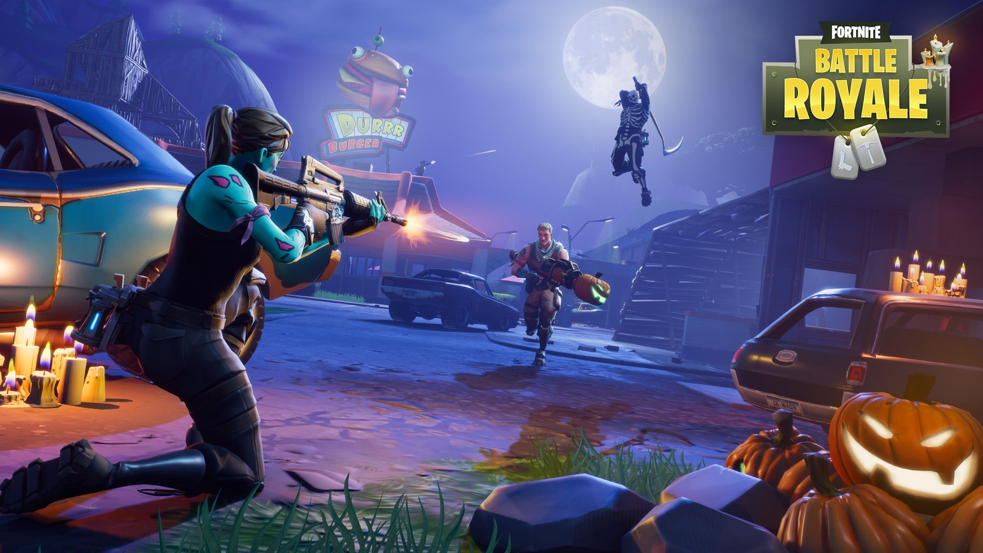 Fortnite Battle Royale UHD Wallpapers