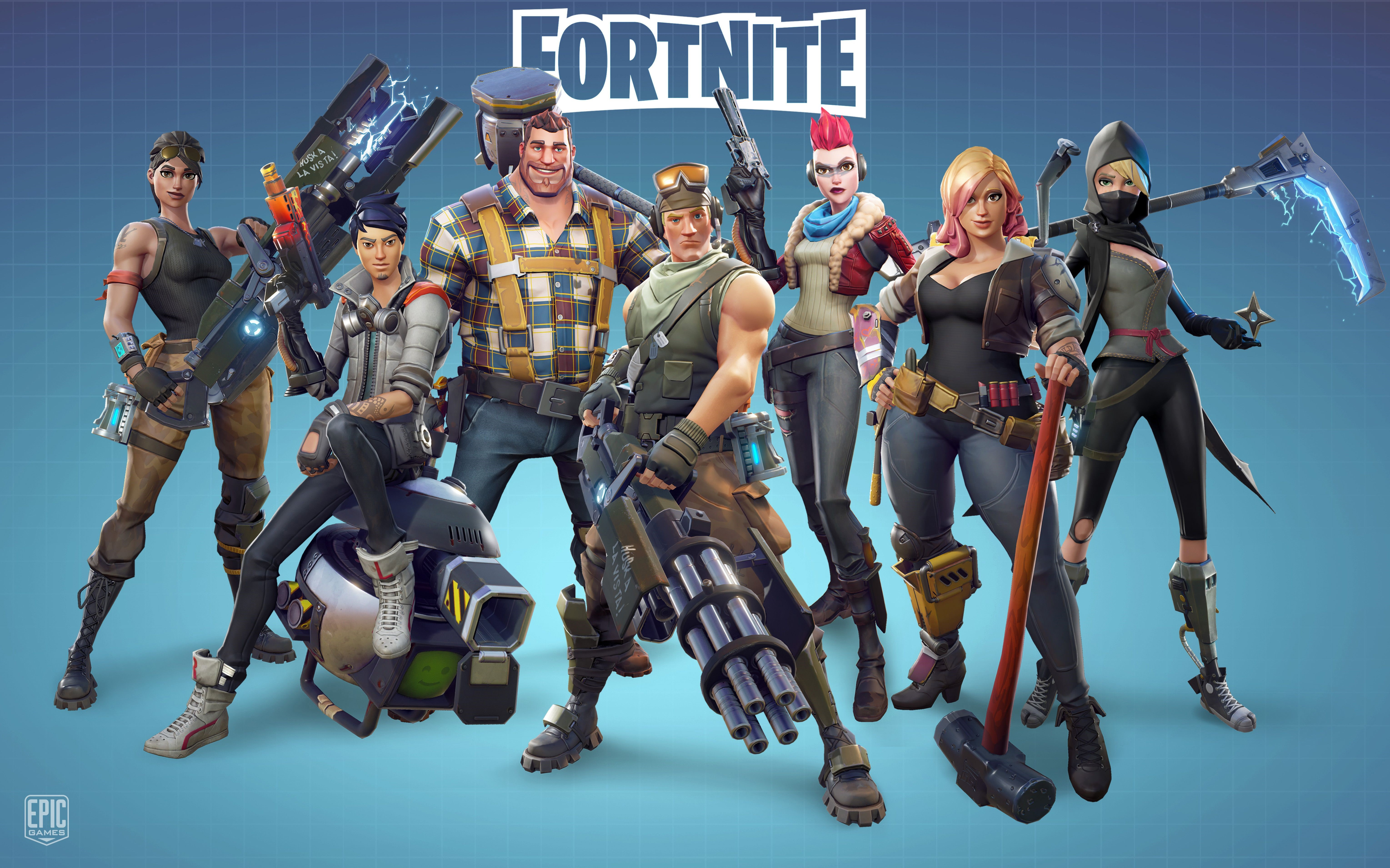 Fortnite Soldier HD Wallpapers