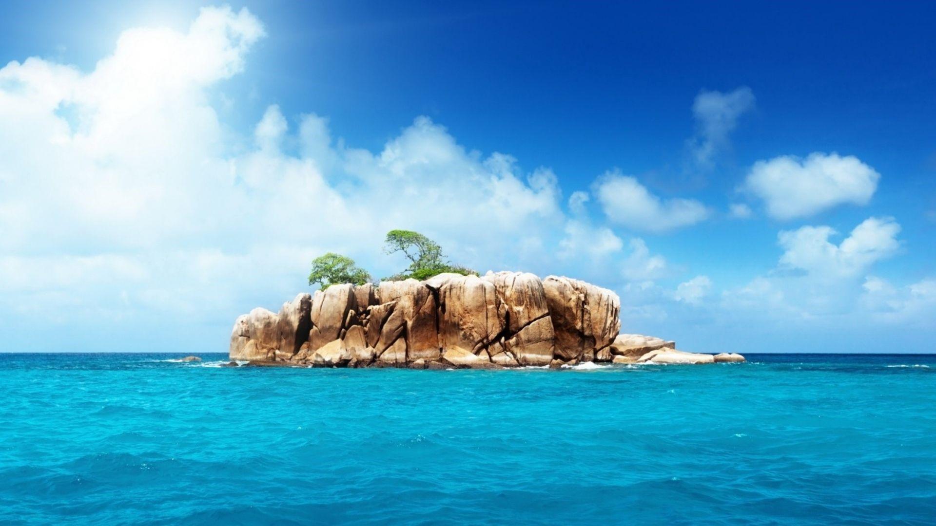 Island Mobile HD Wallpaper
