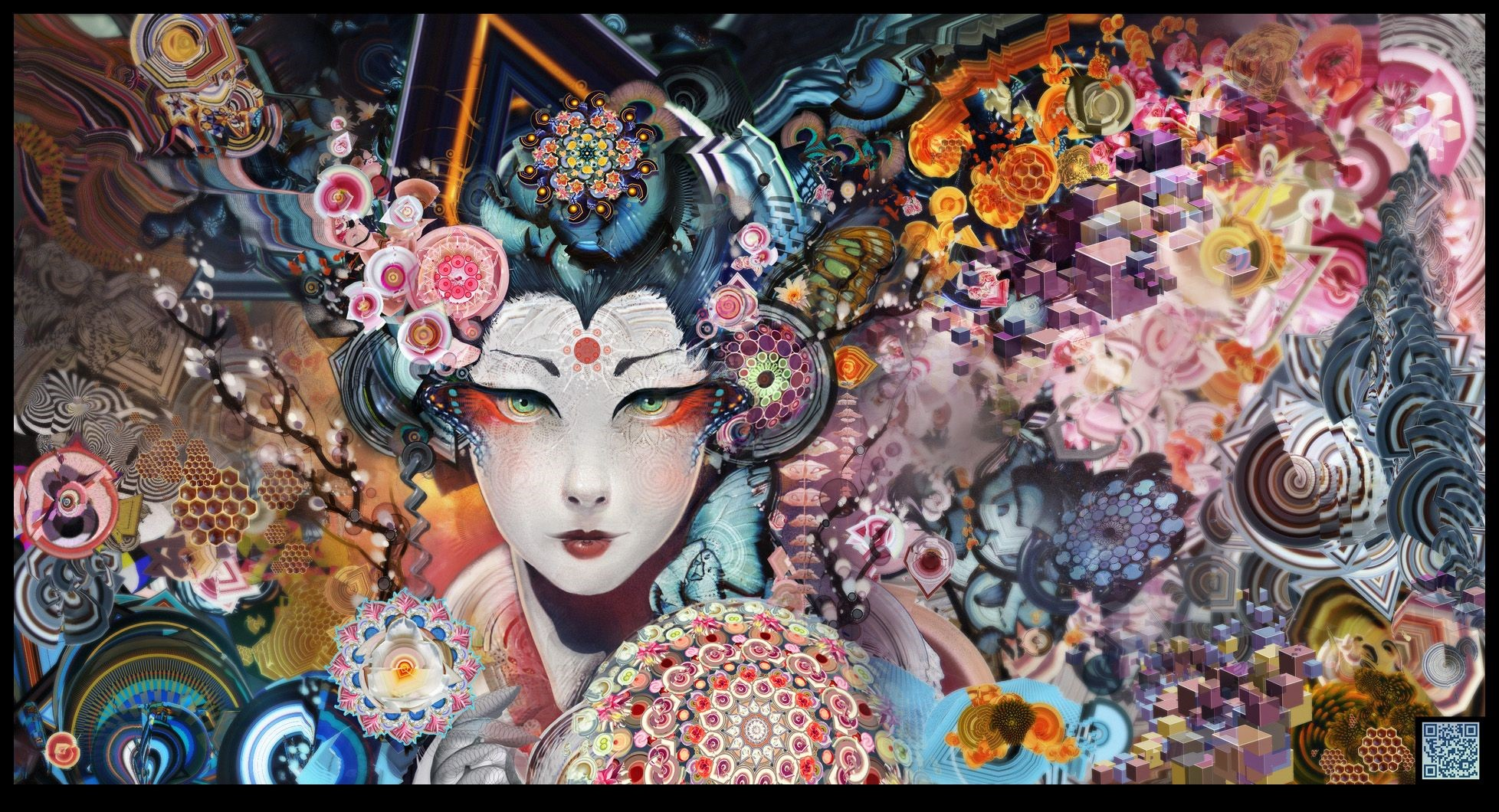 Japanese Geisha Girls Art 1080p Wallpapers