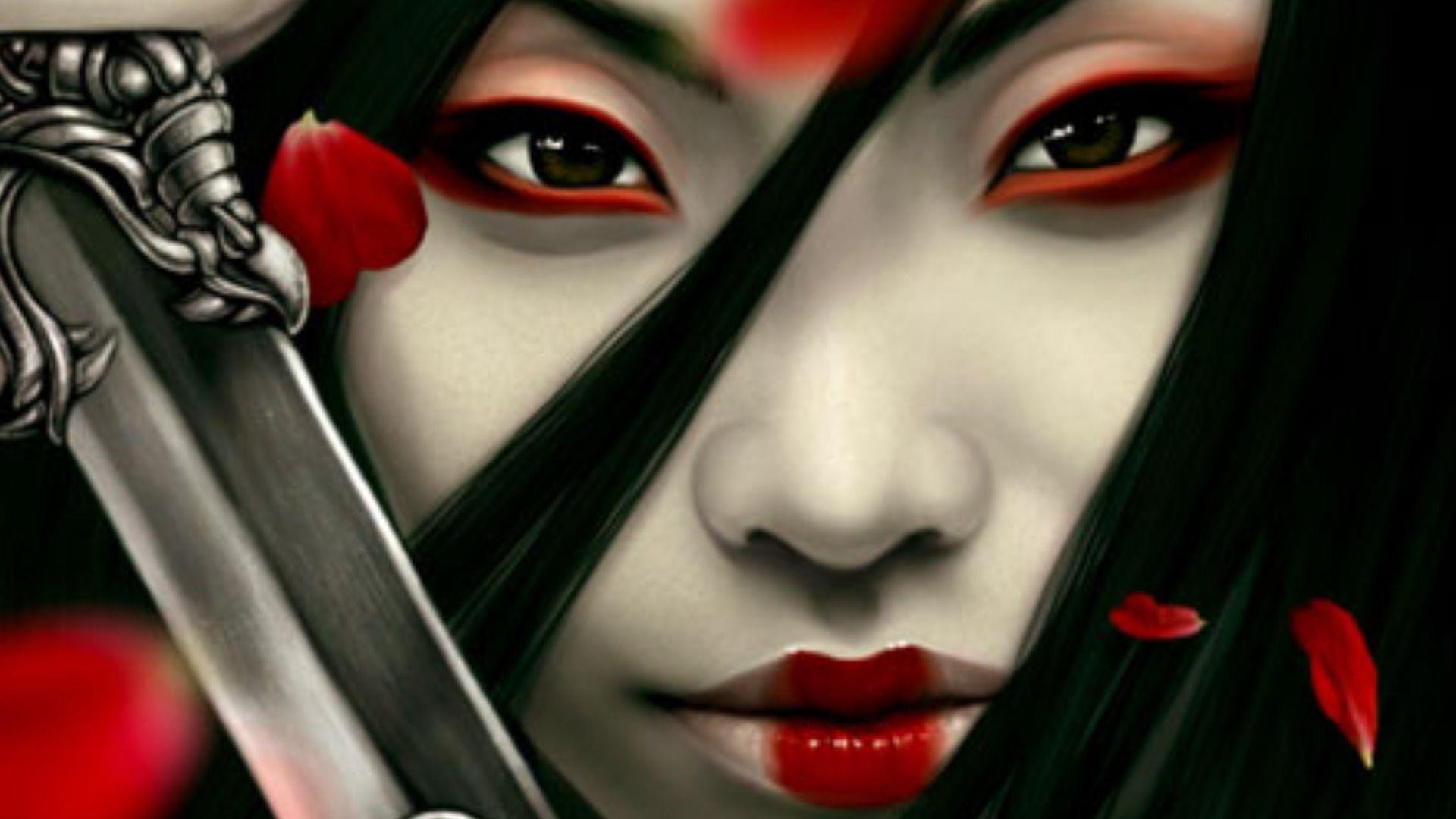 Japanese Samurai Girl Photos
