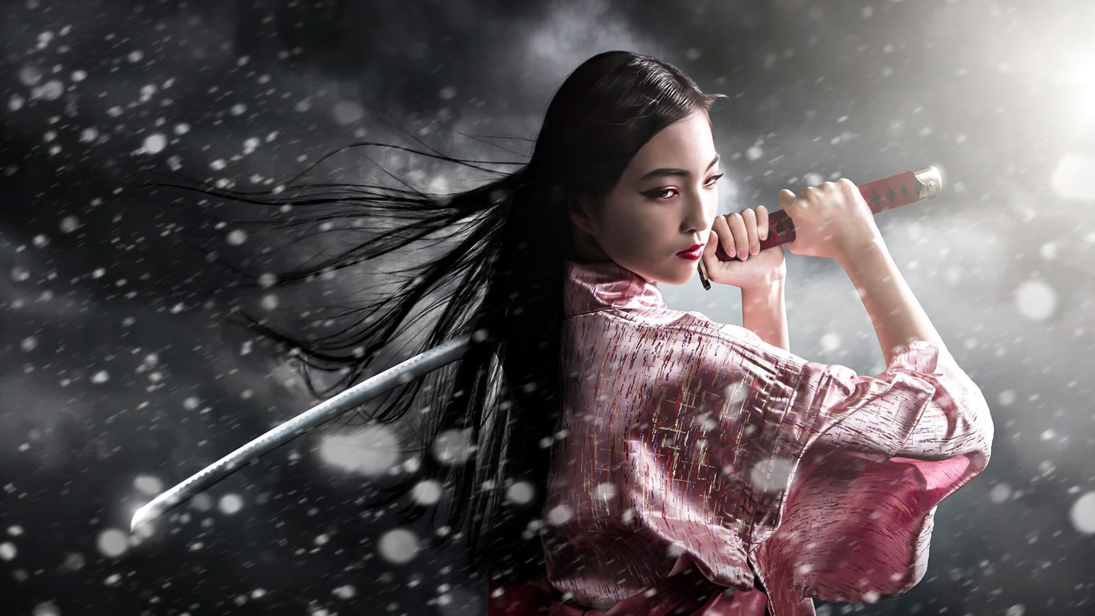 Japanese Samurai Girl Wallpapers