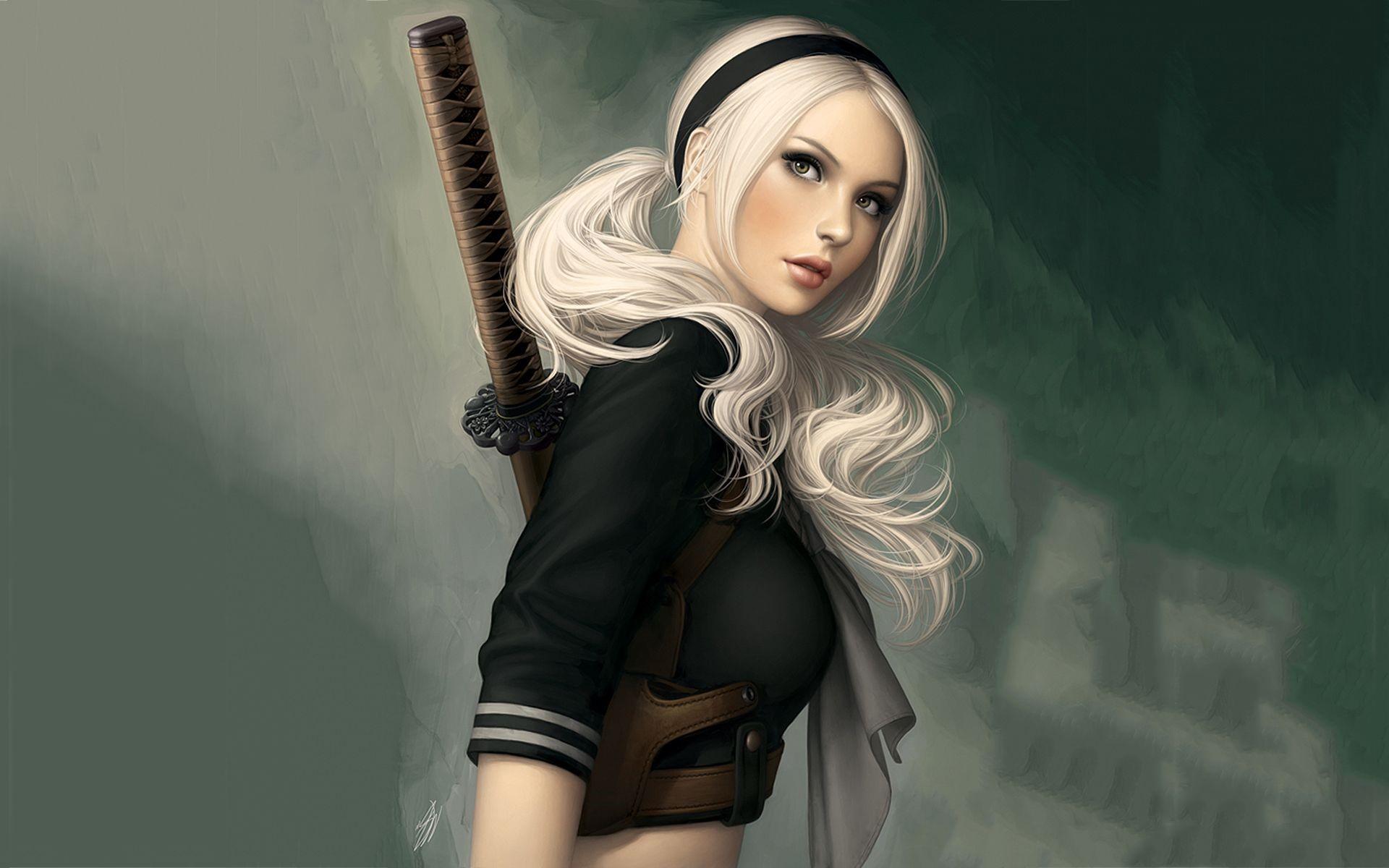 Japanese Samurai Girl images