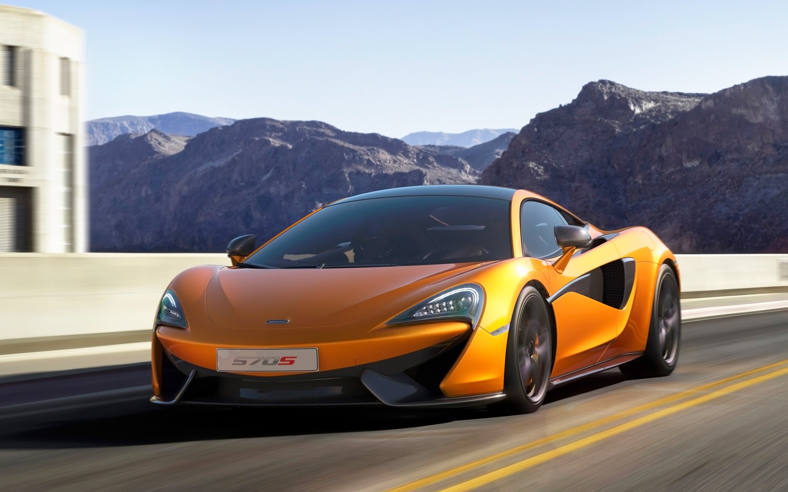 McLaren 570S 4K Wallpapers
