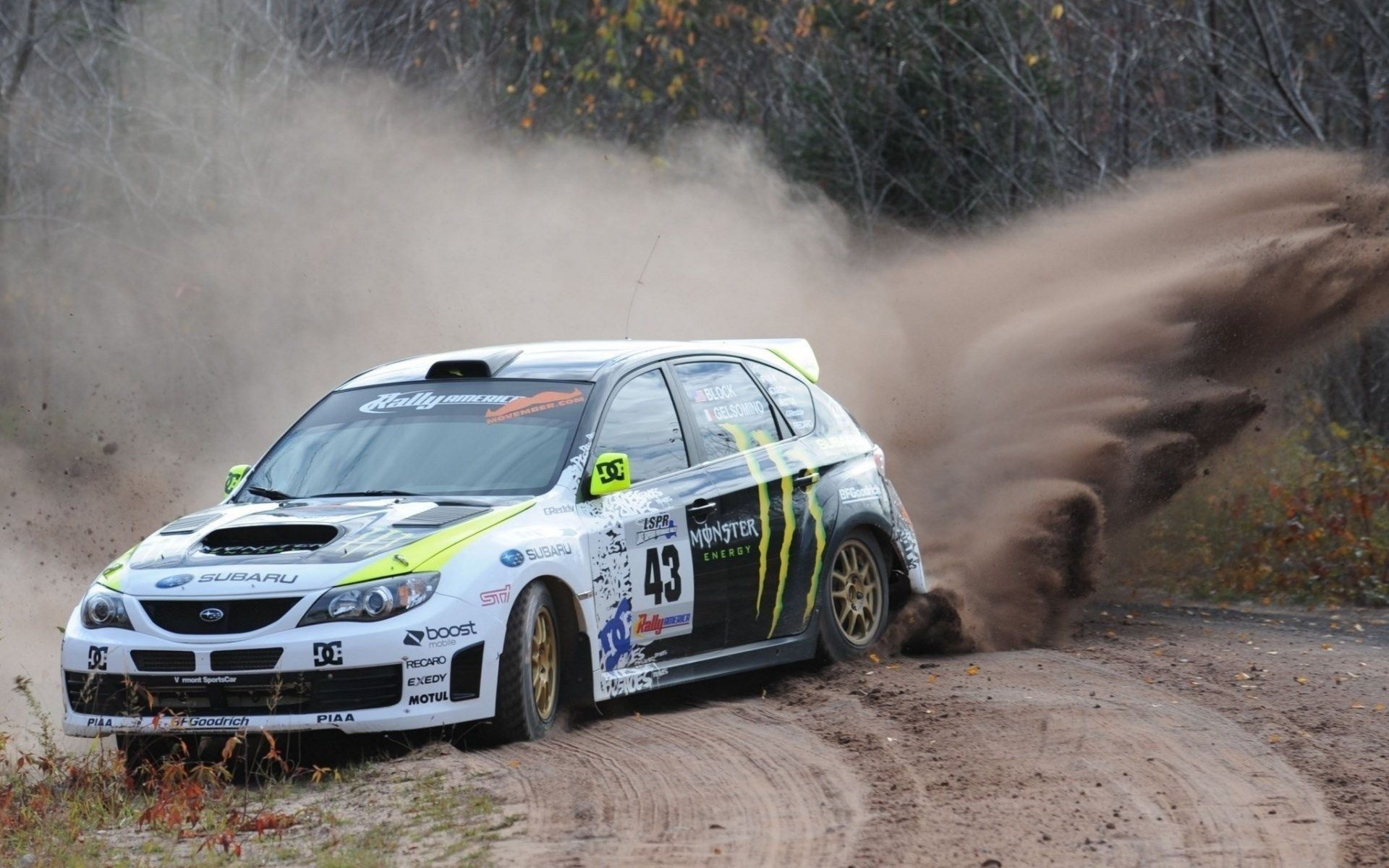 Subaru Rally Car 1080p Wallpapers