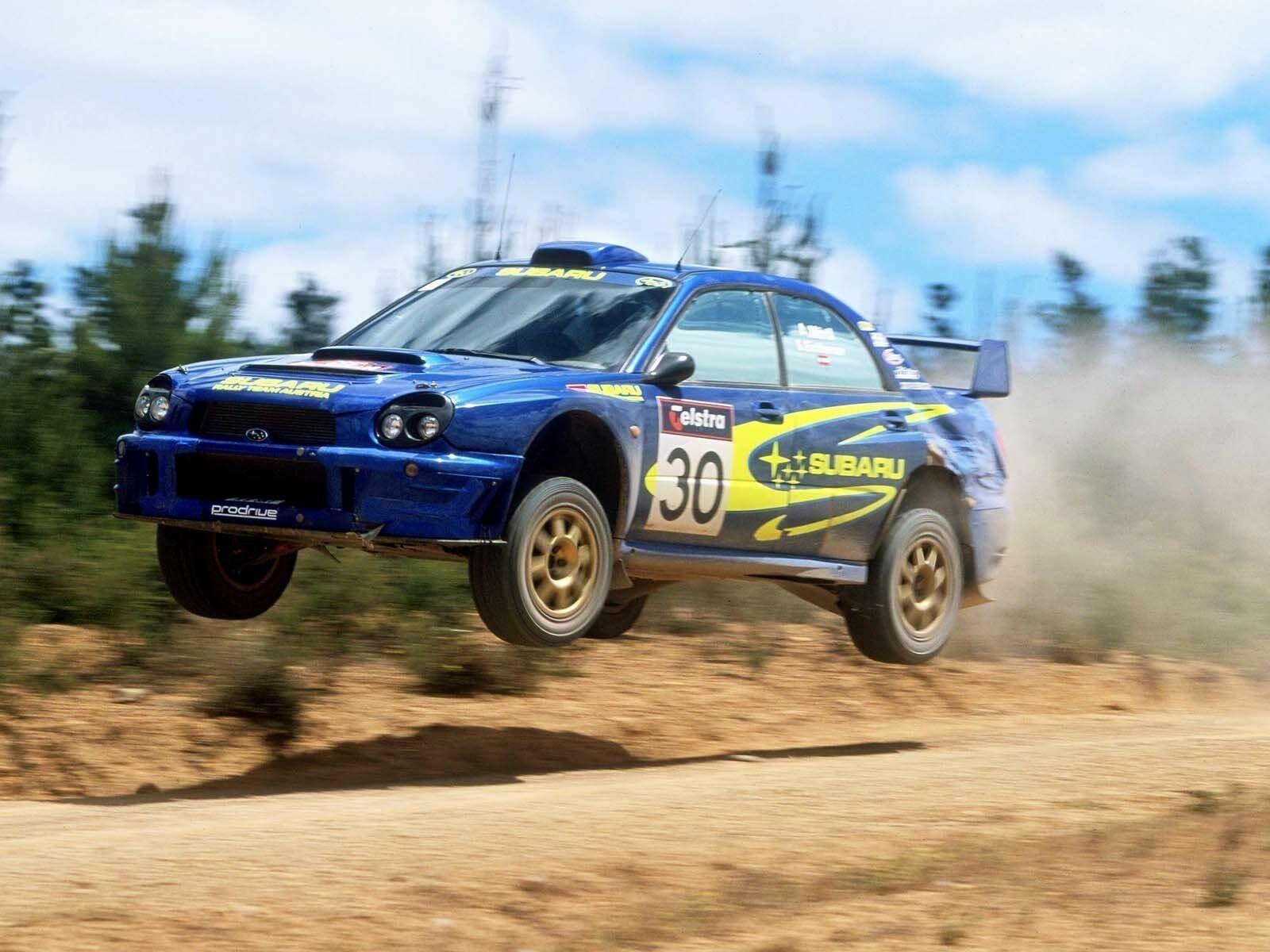 Subaru Rally Car Android Wallpapers
