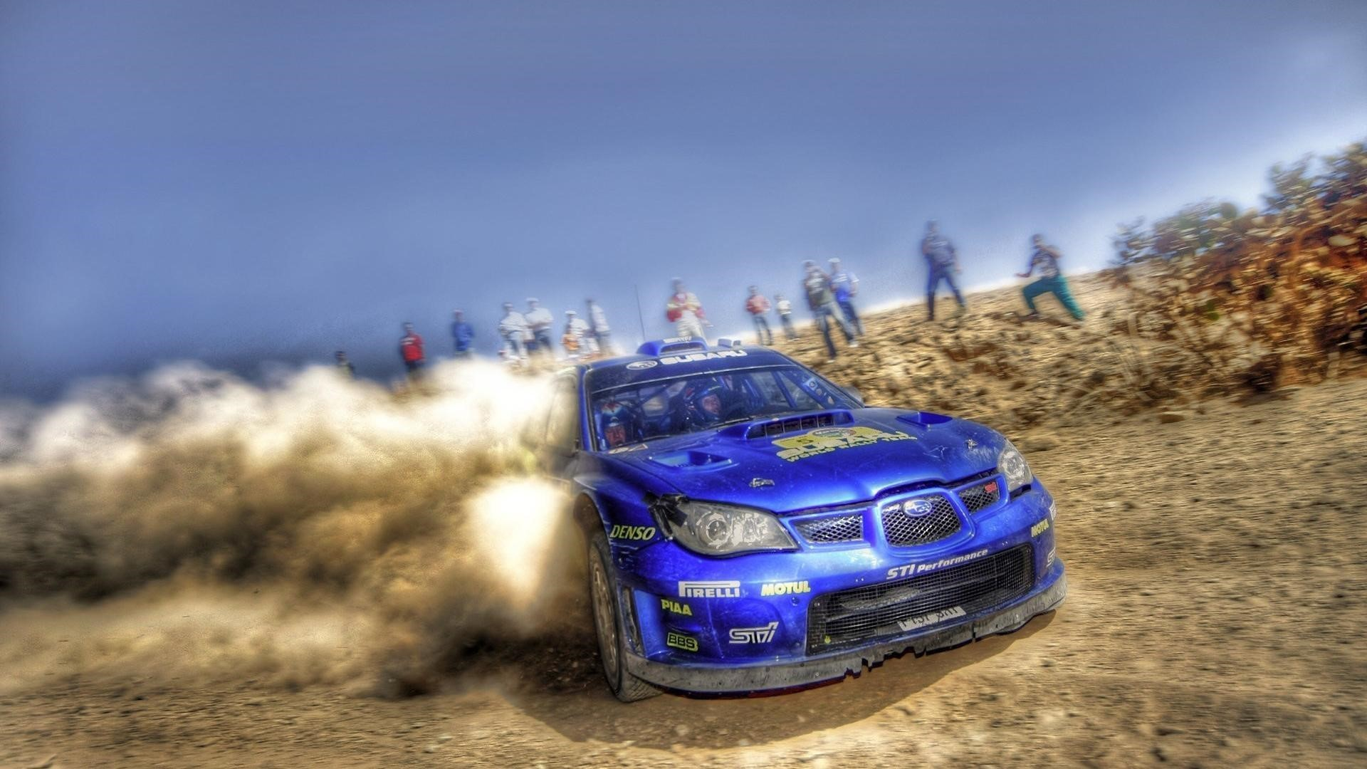 Subaru Rally Car Desktop Wallpapers