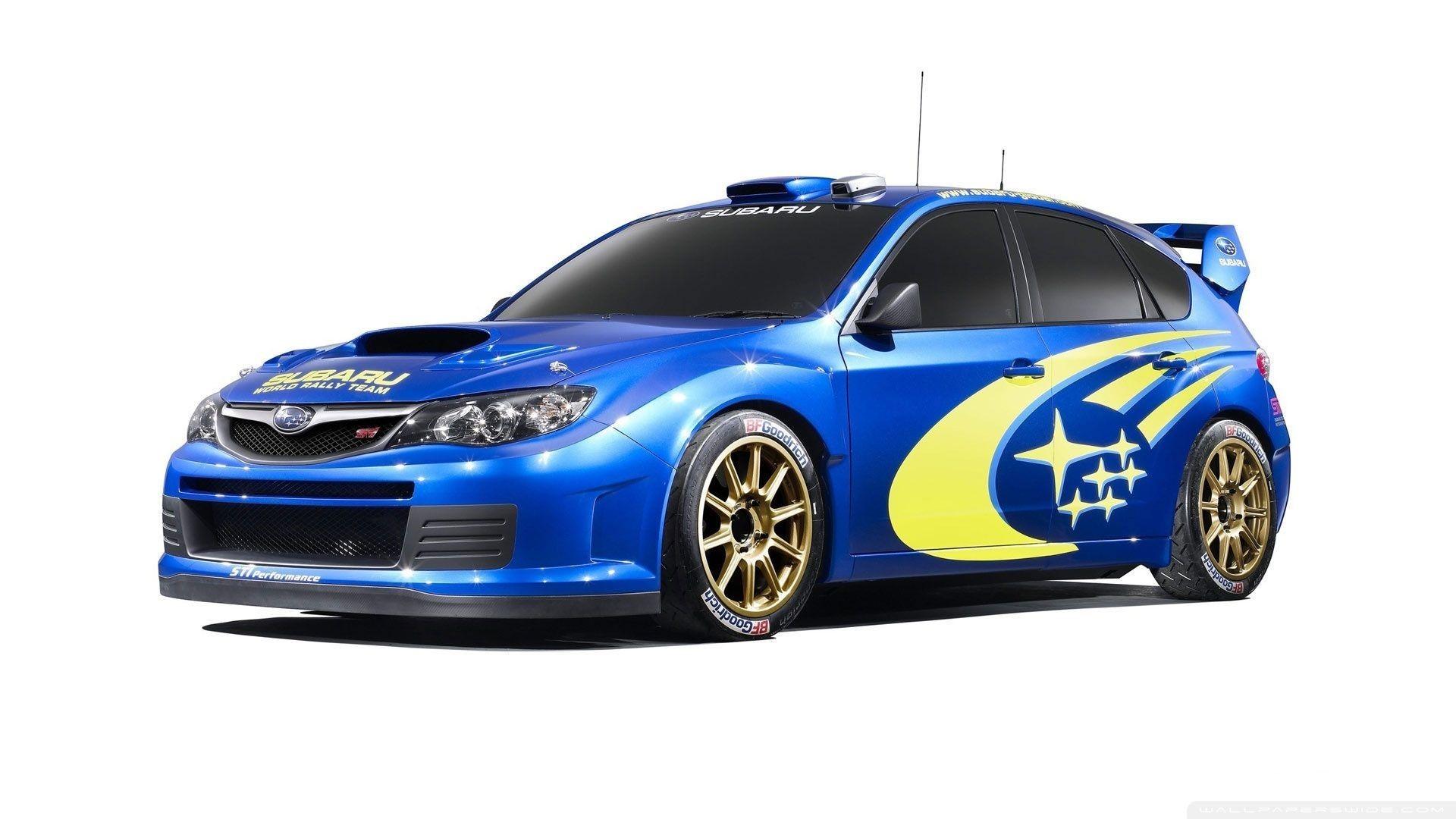 Subaru Rally Car Mobile HD Wallpaper