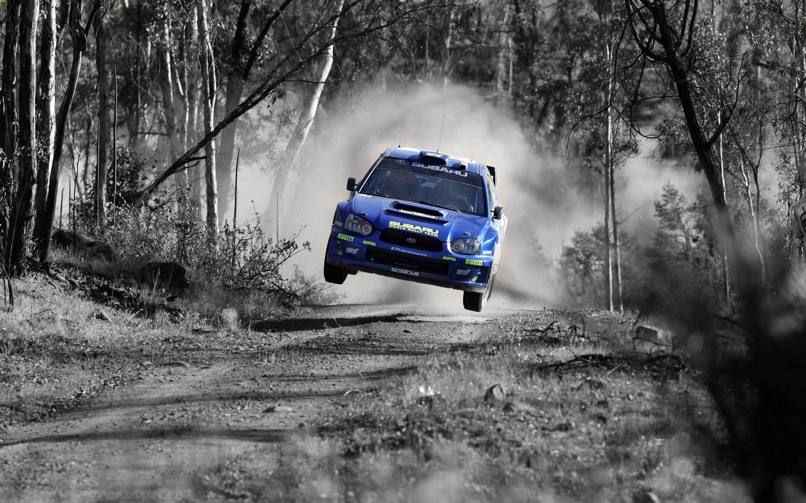 Subaru Rally Car Photo