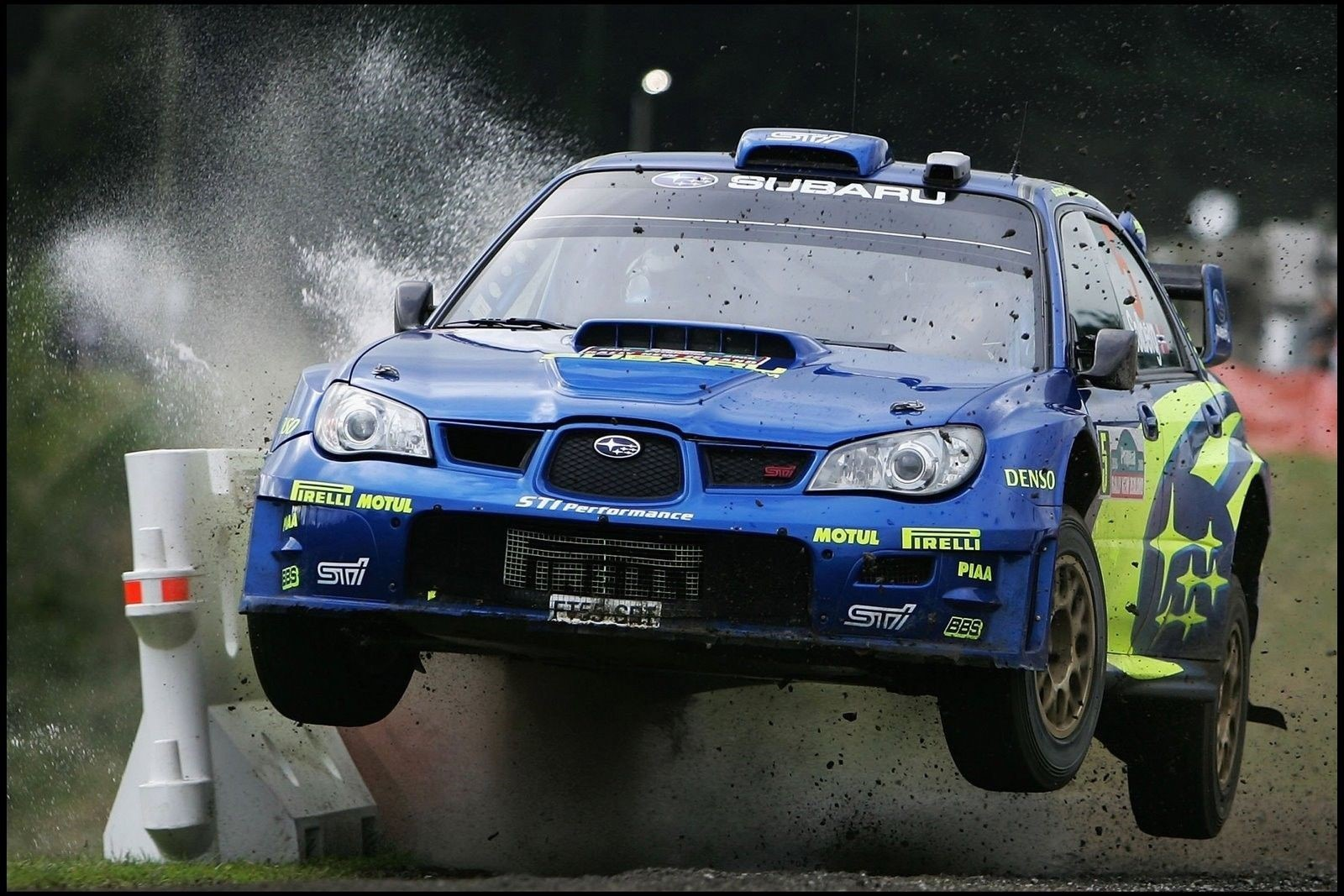 Subaru Rally Car Photos