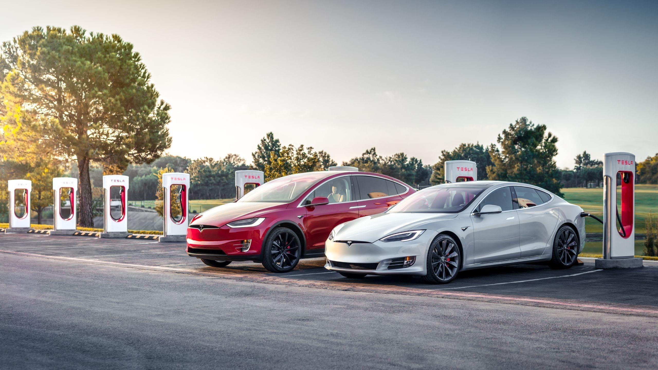 Tesla Desktop Wallpapers