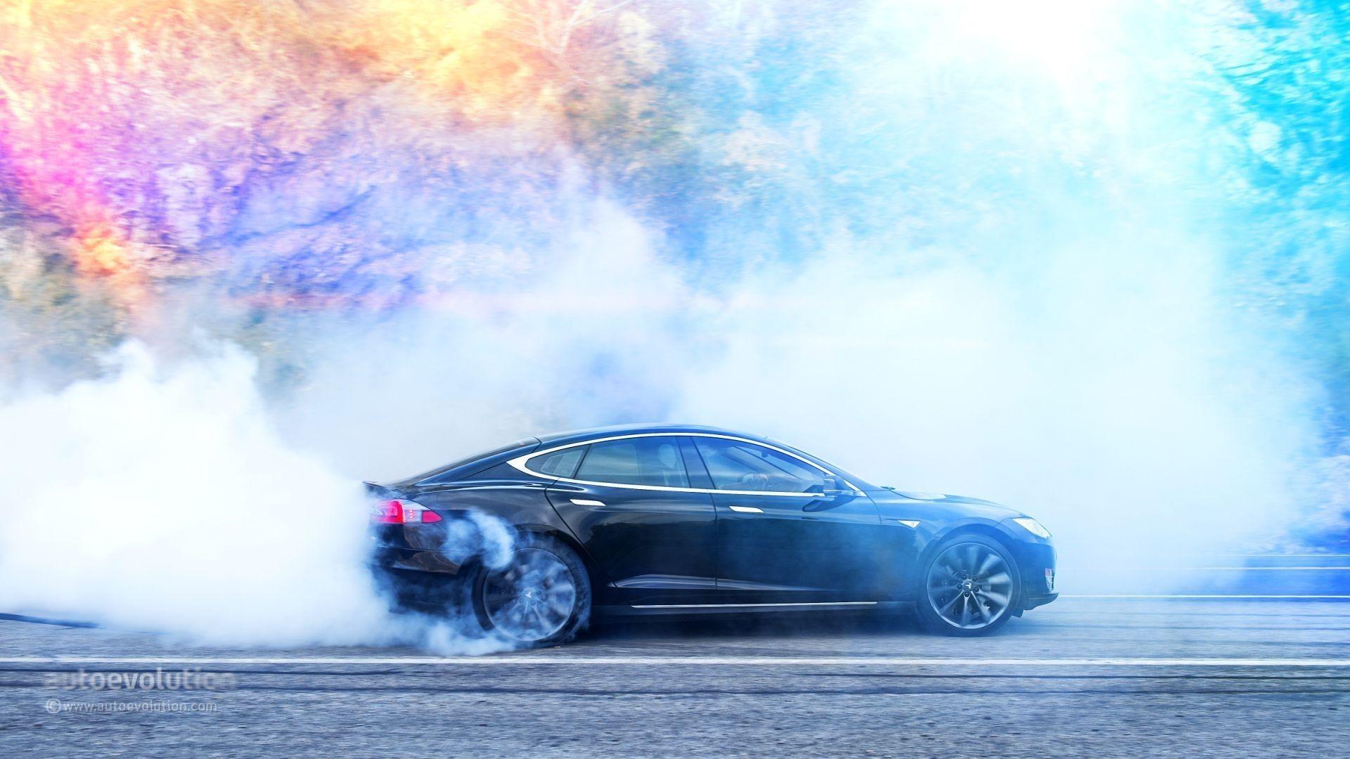 Tesla Mobile HD Wallpaper
