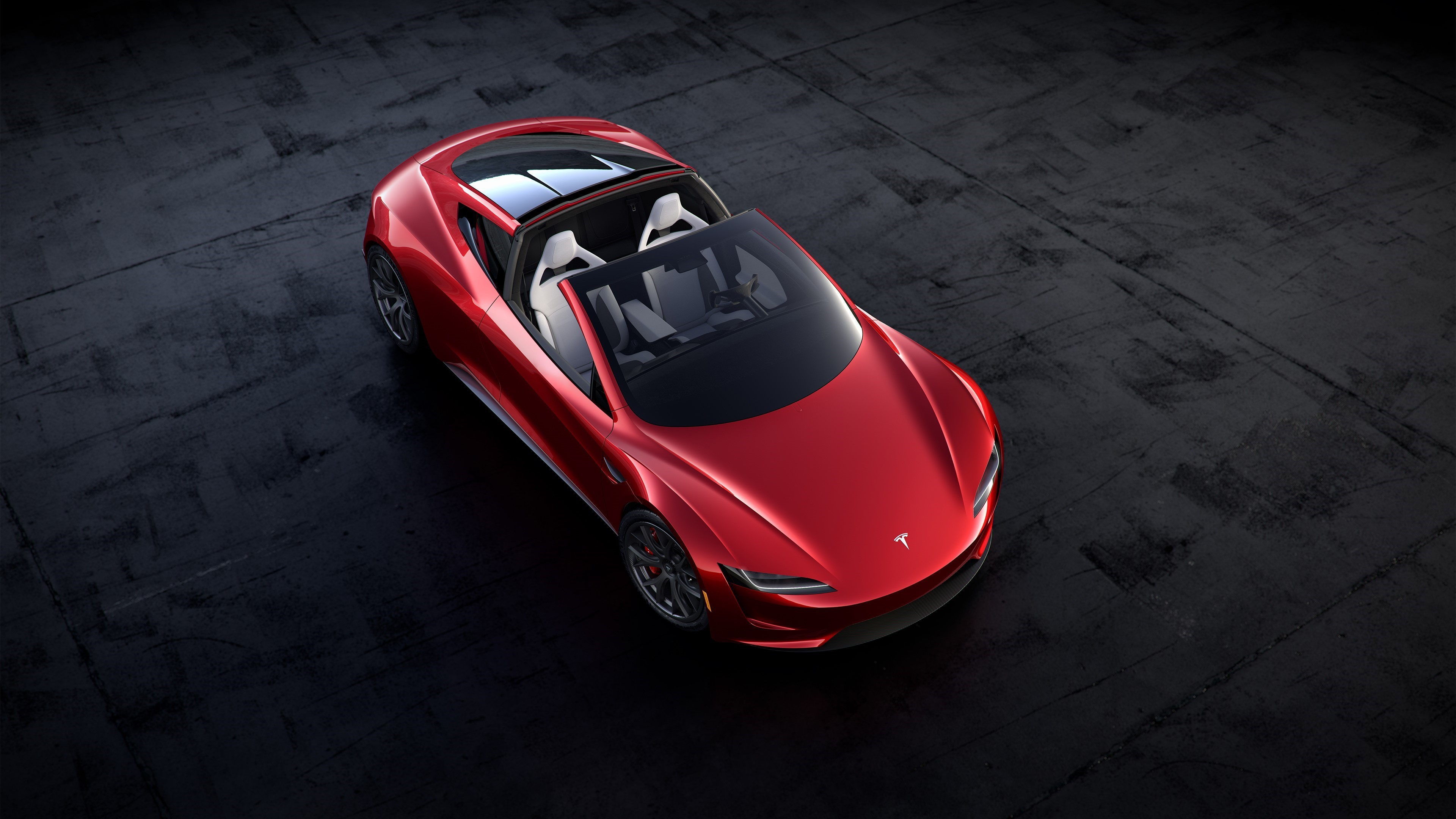 Tesla Roadster 1080p Wallpapers