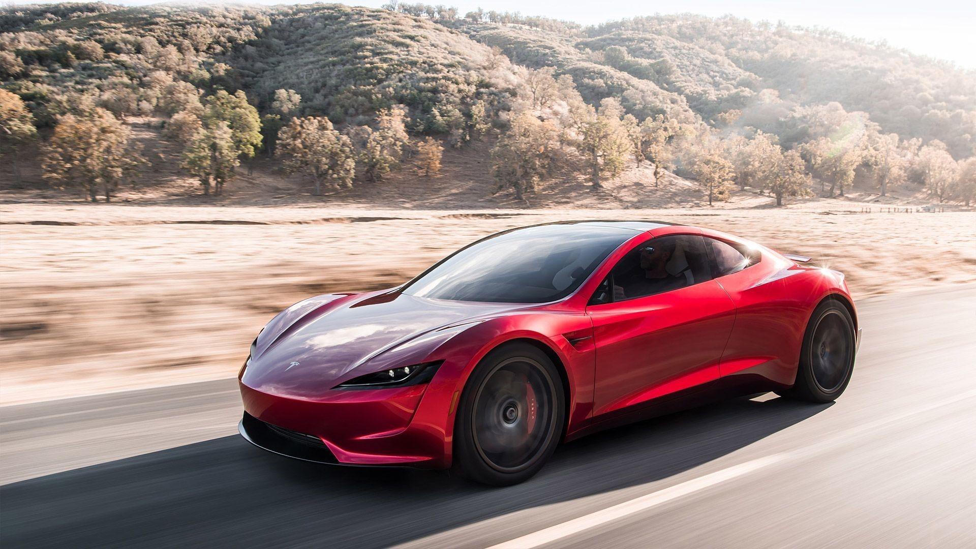 Tesla Roadster 4K Wallpapers