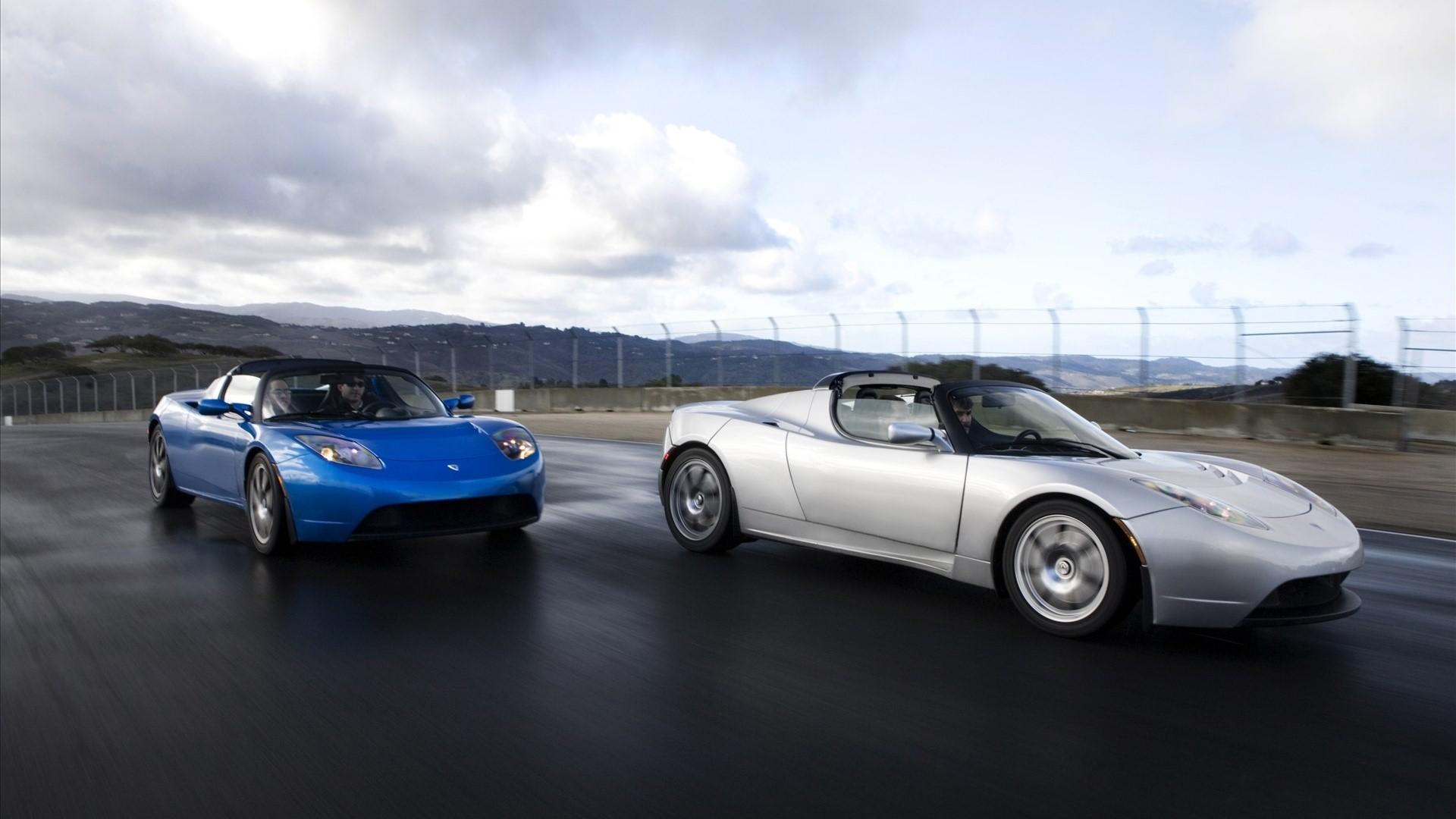 Tesla Roadster Mobile HD Wallpaper