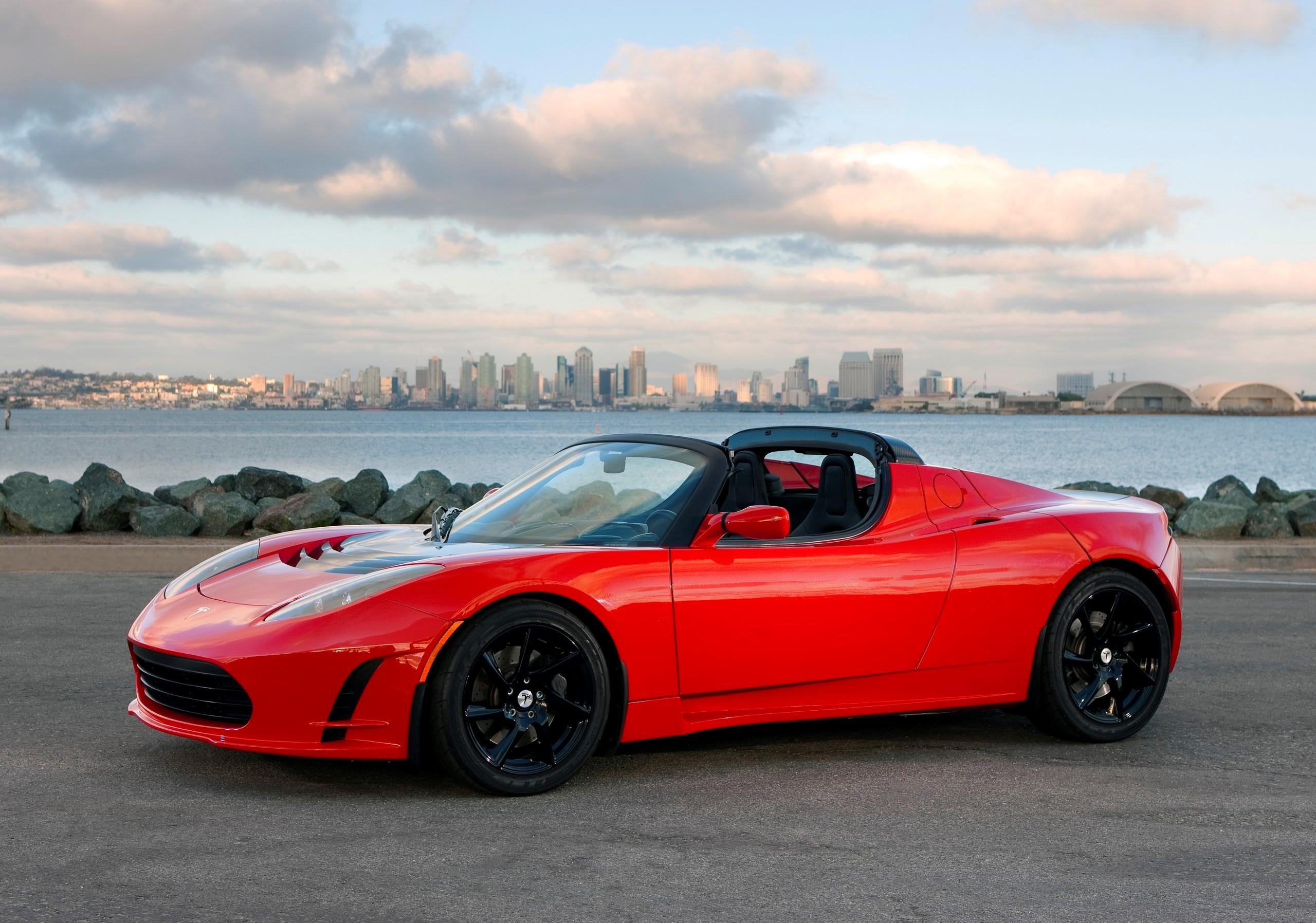 Tesla Roadster Review Wallpaper Download High Resolution