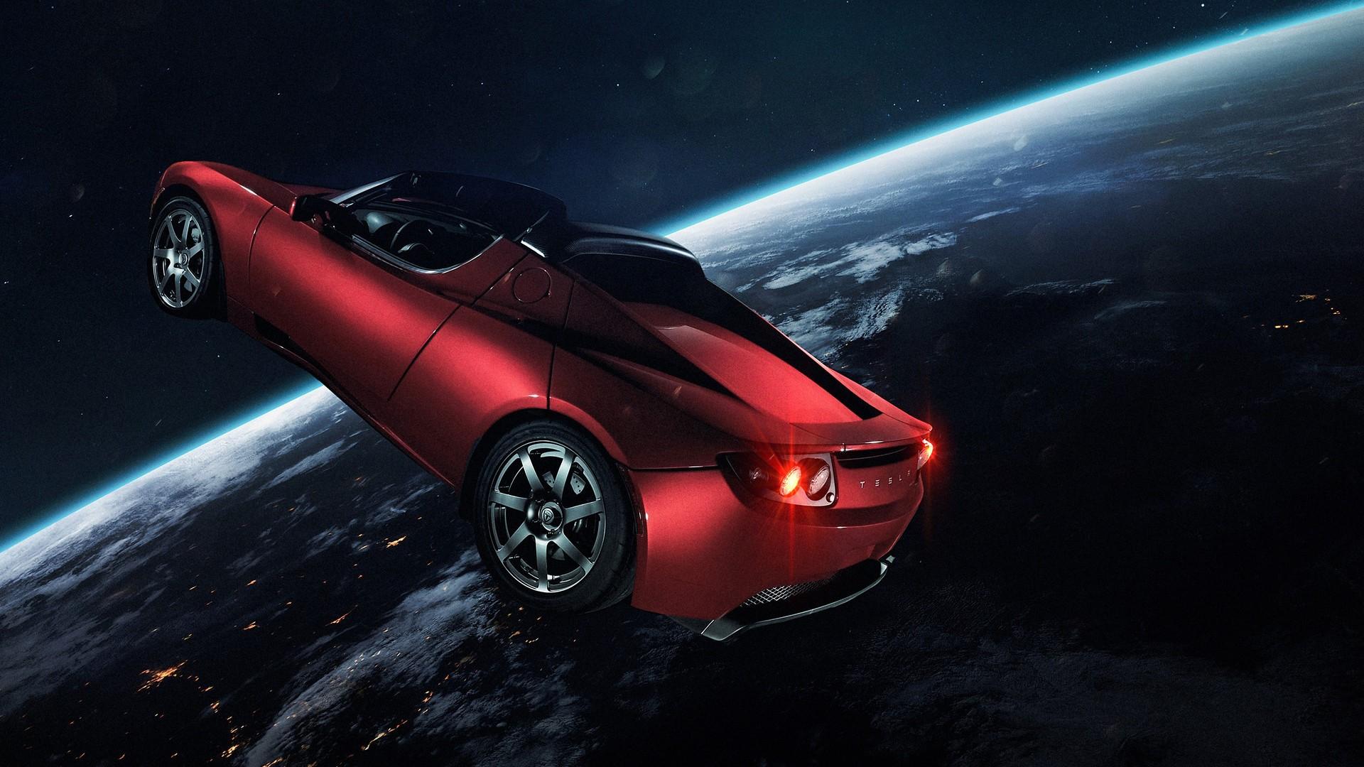 Tesla Roadster Samsung Wallpapers