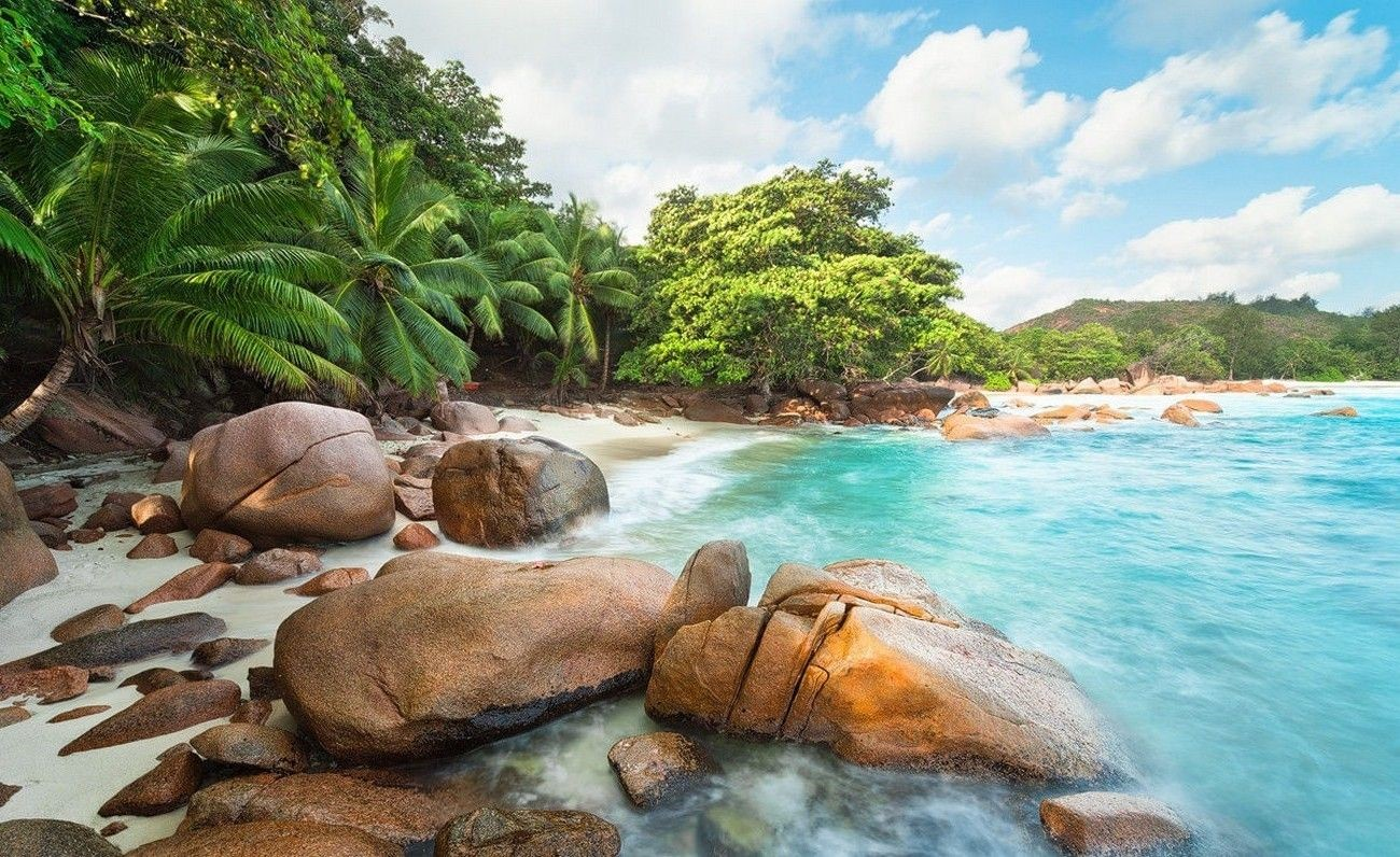 Tropical Beach Landscape HD Wallpapers