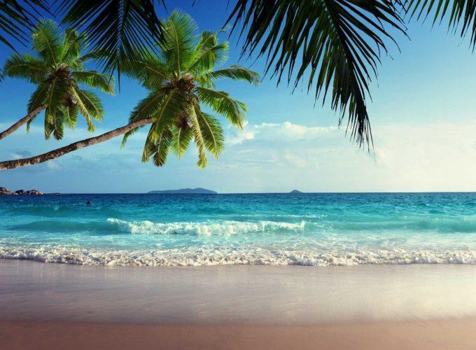 Hd Tropical Beach Landscape Wallpaper Laptop Wallpaper Wallpapes High Resolution 4k Wallpaper