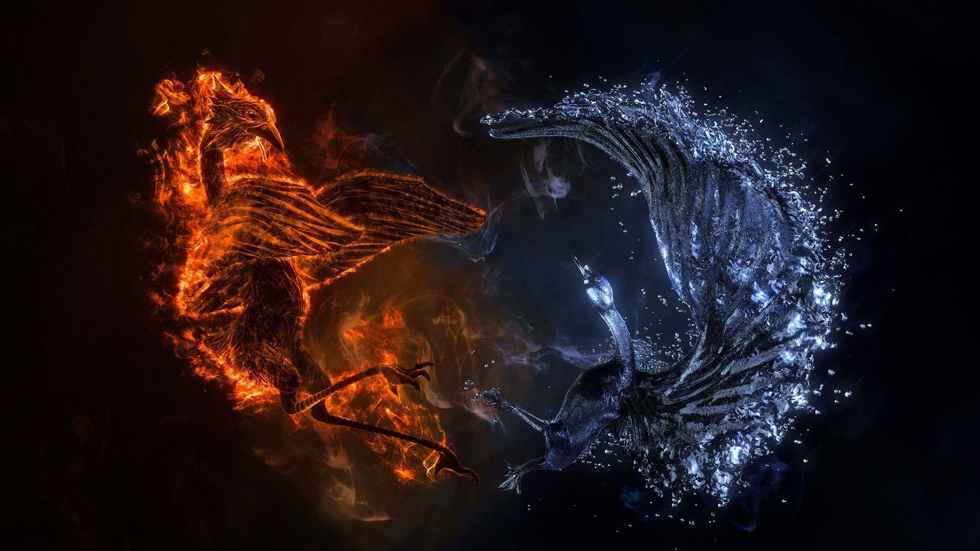 4K Phoenix Laptop Wallpaper