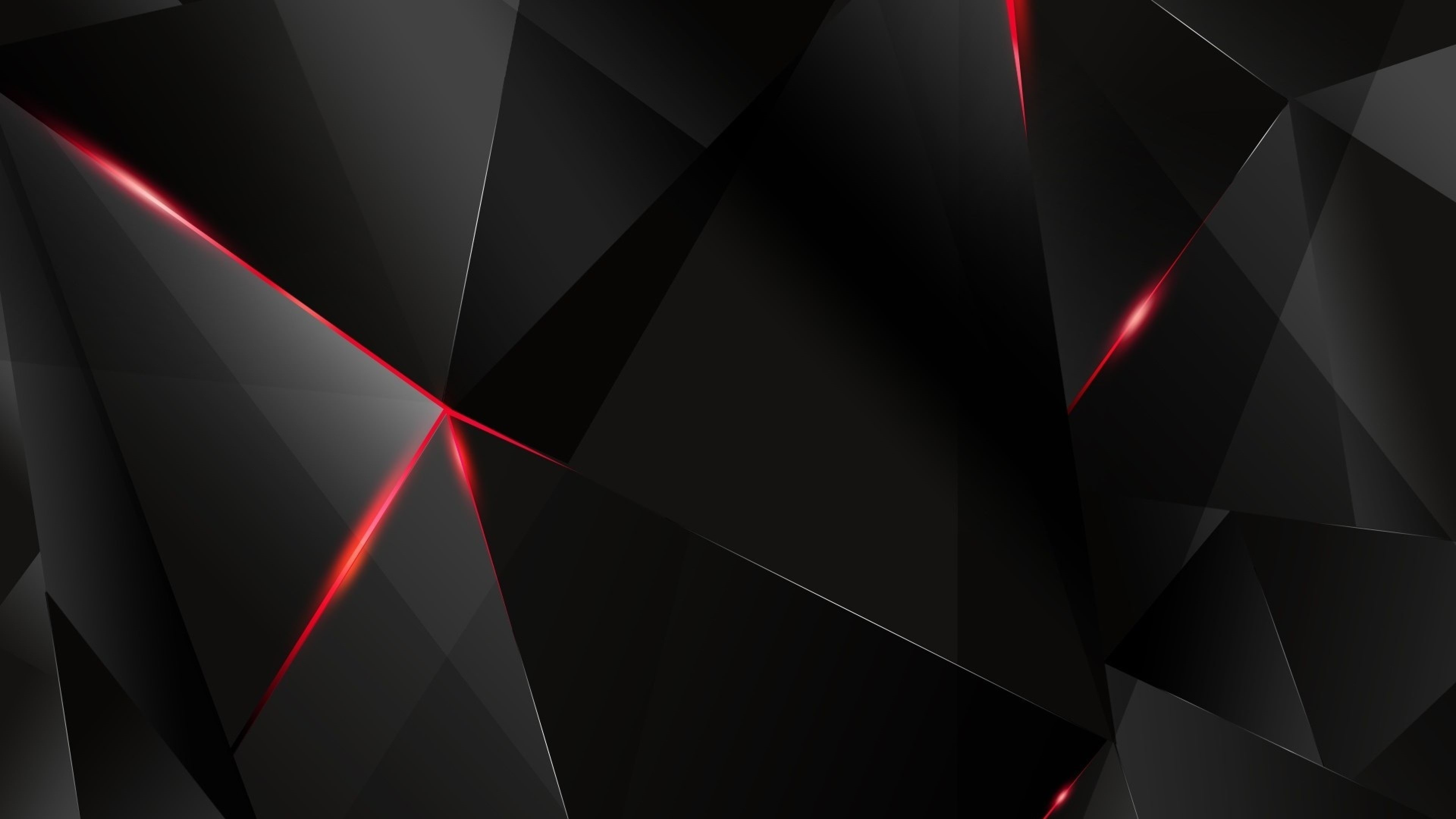 4K Red HD Background