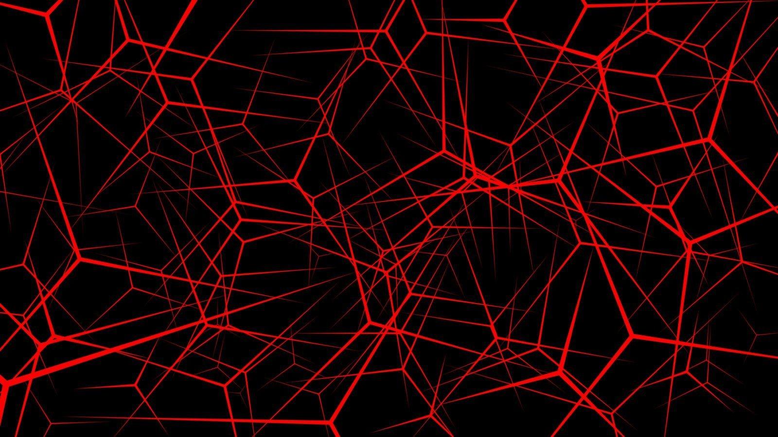 4K Red Laptop Wallpaper