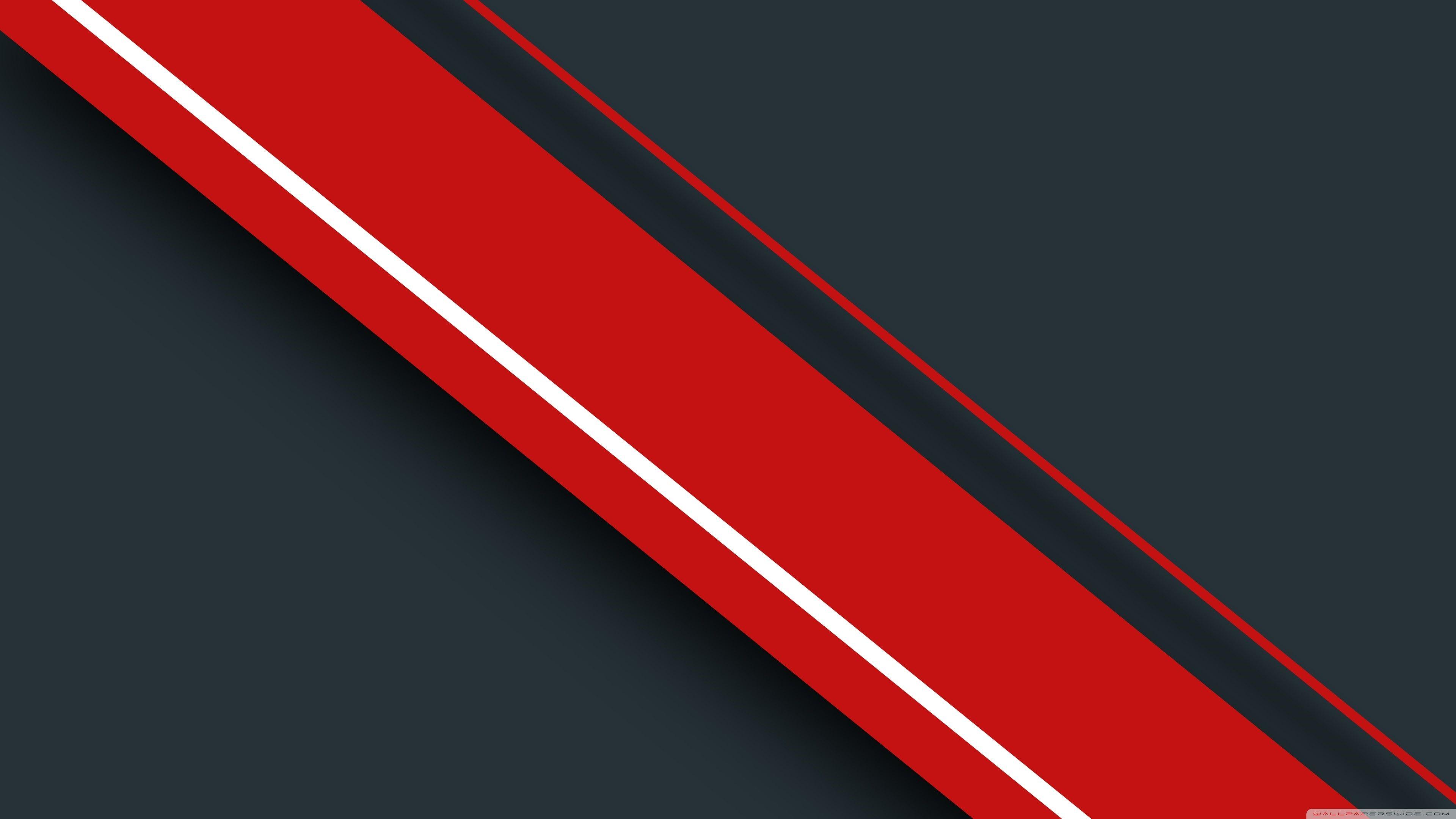 4K Red Windows Background