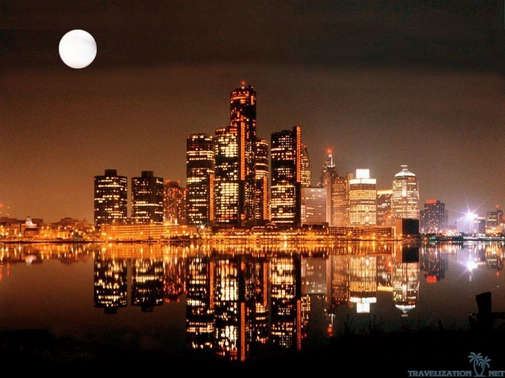 Detroit HD Background