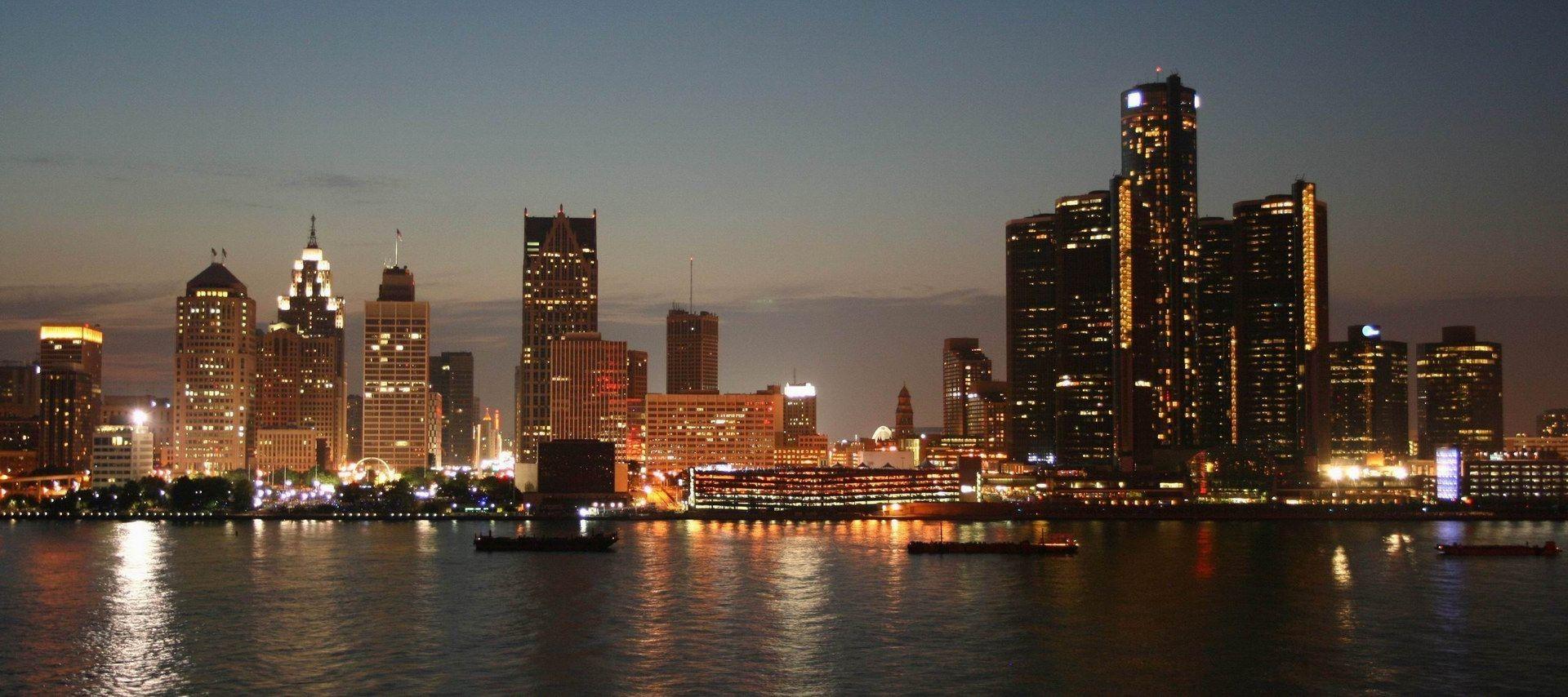 Detroit Windows Background