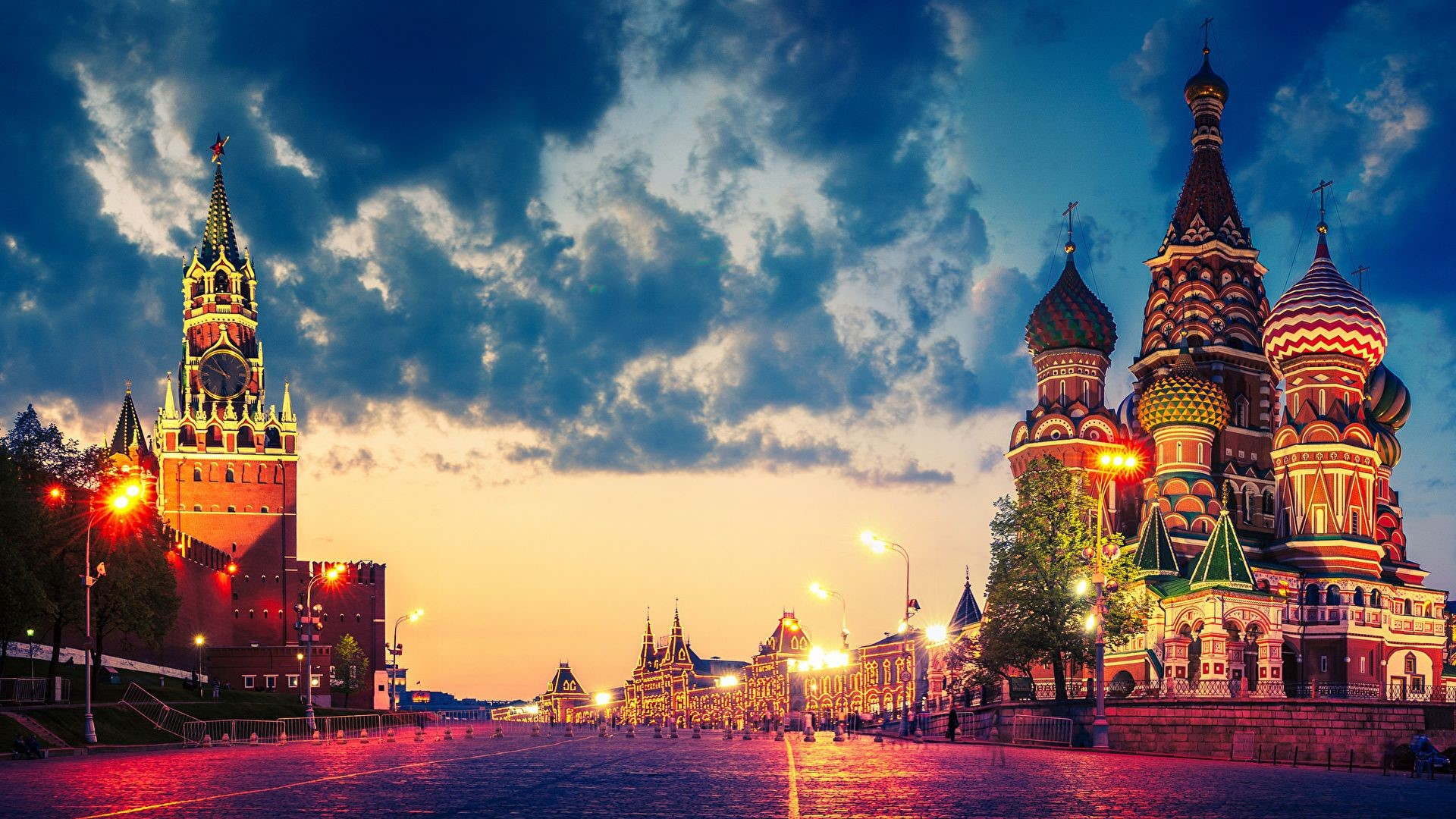 Moscow Android Wallpapers