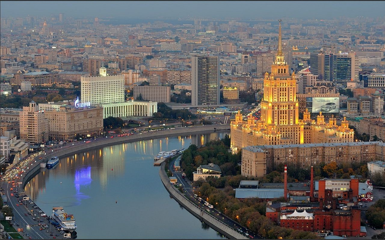 Moscow Screensaver