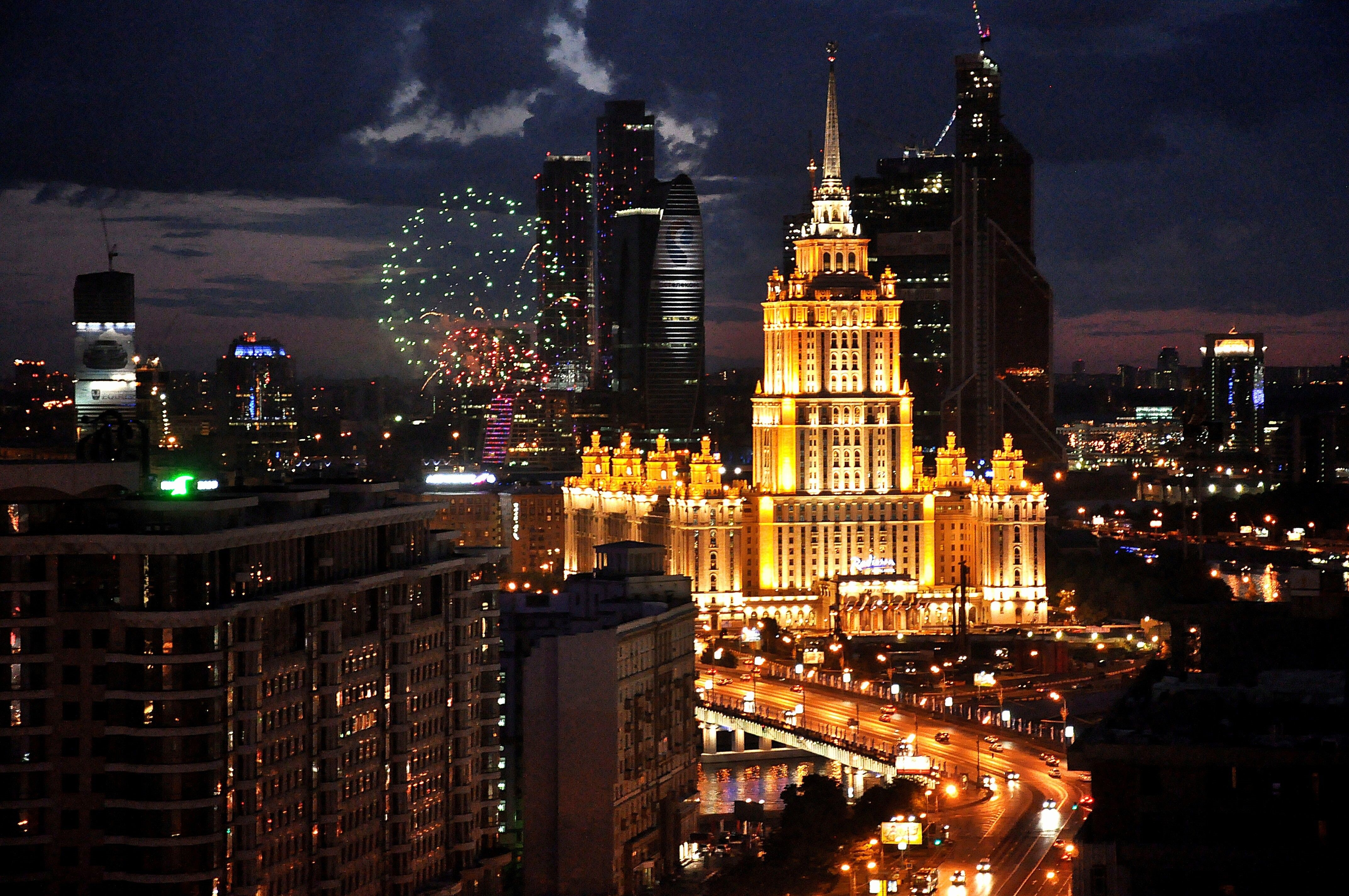 Moscow Tablet Wallpaper