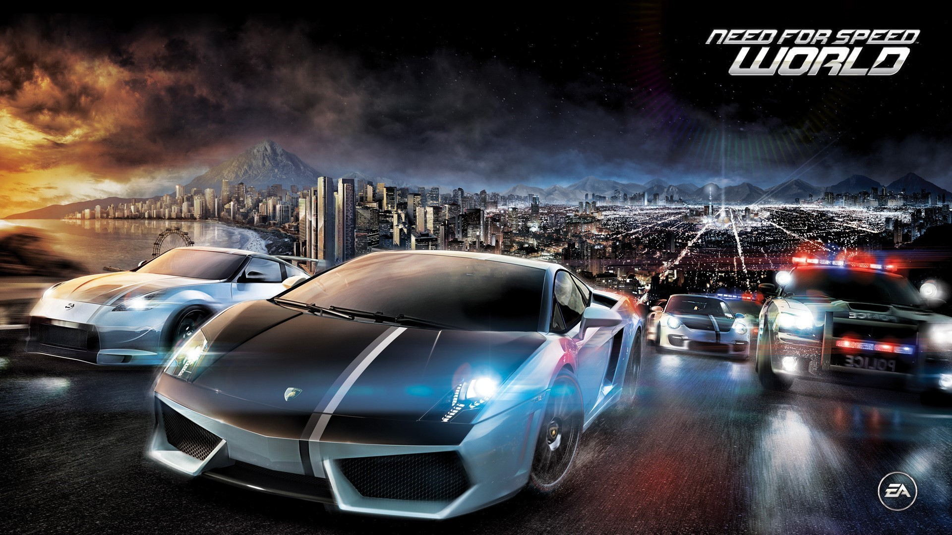 Need for Speed HD Background