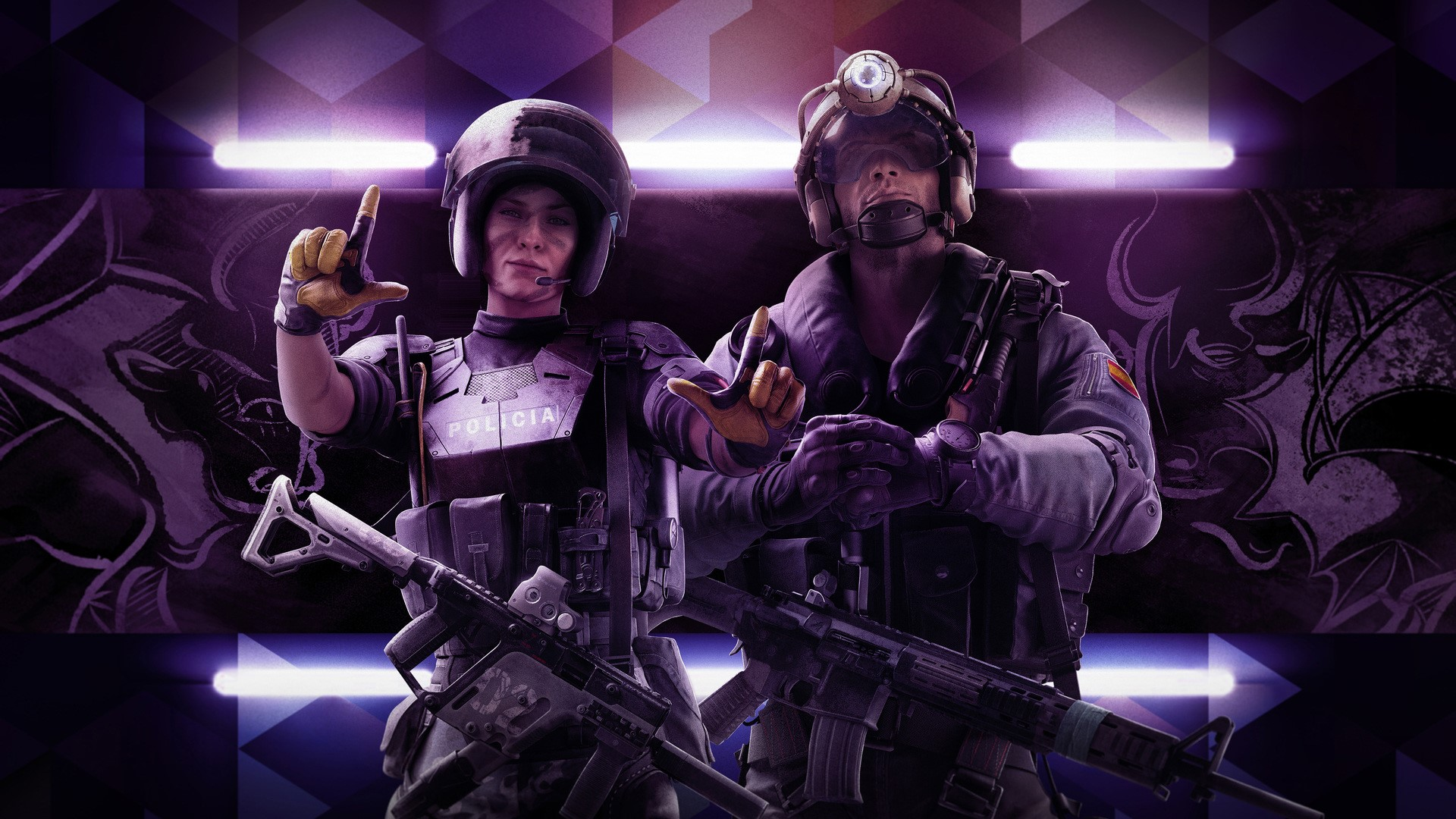 Rainbow Six Siege Wall Background