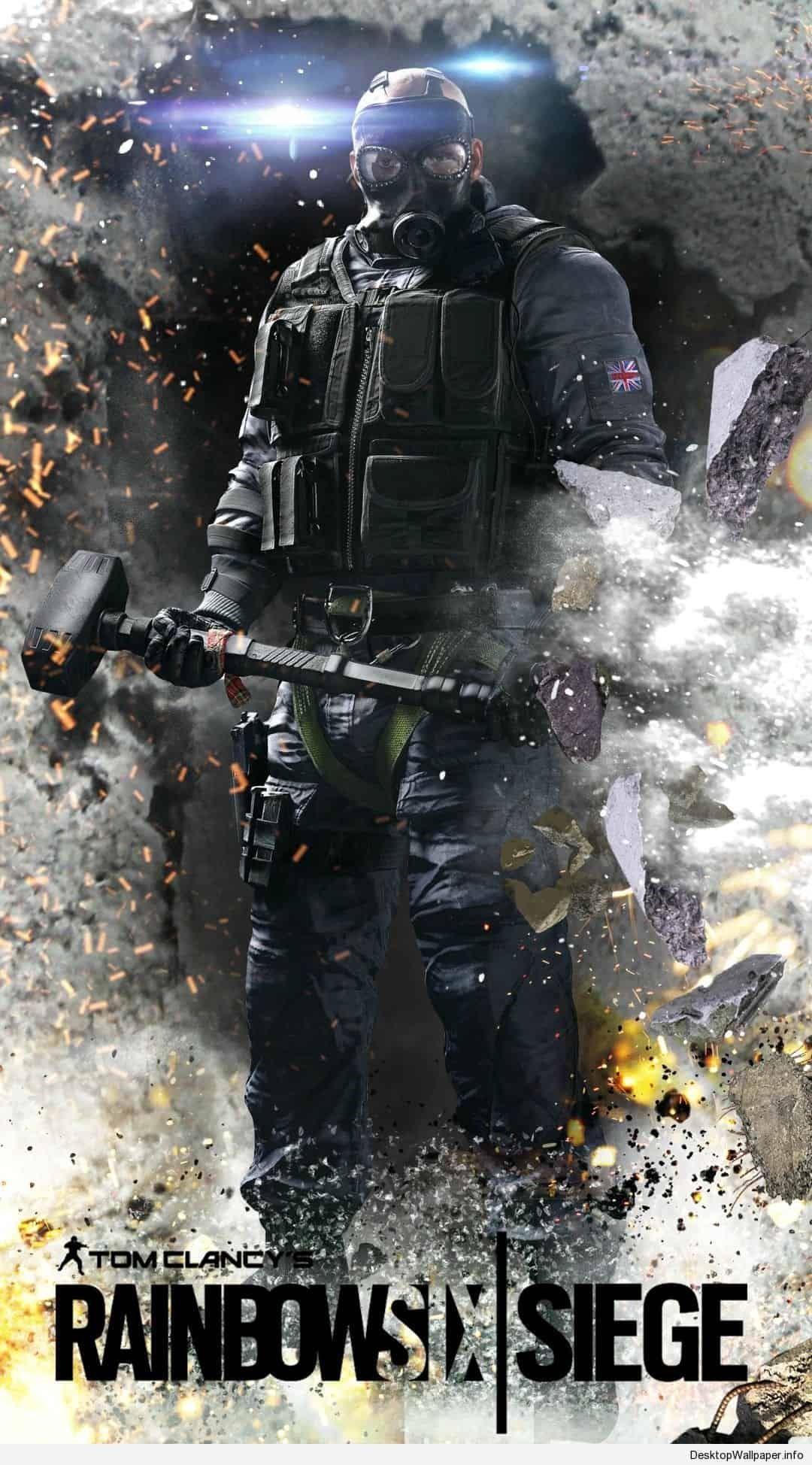 Rainbow Six Siege iphone Wallpapers Wallpaper Download