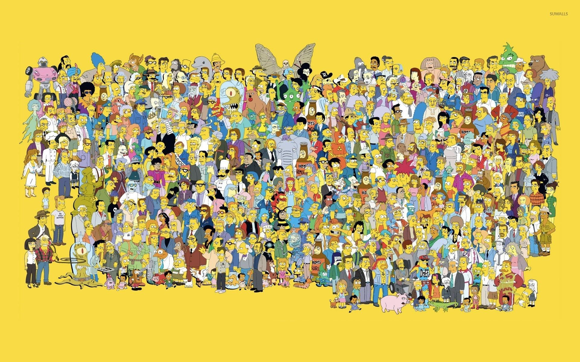 Simpsons 4K Wallpapers
