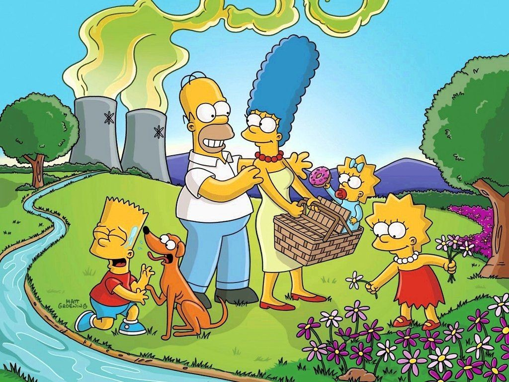 Simpsons HTC Wallpapers