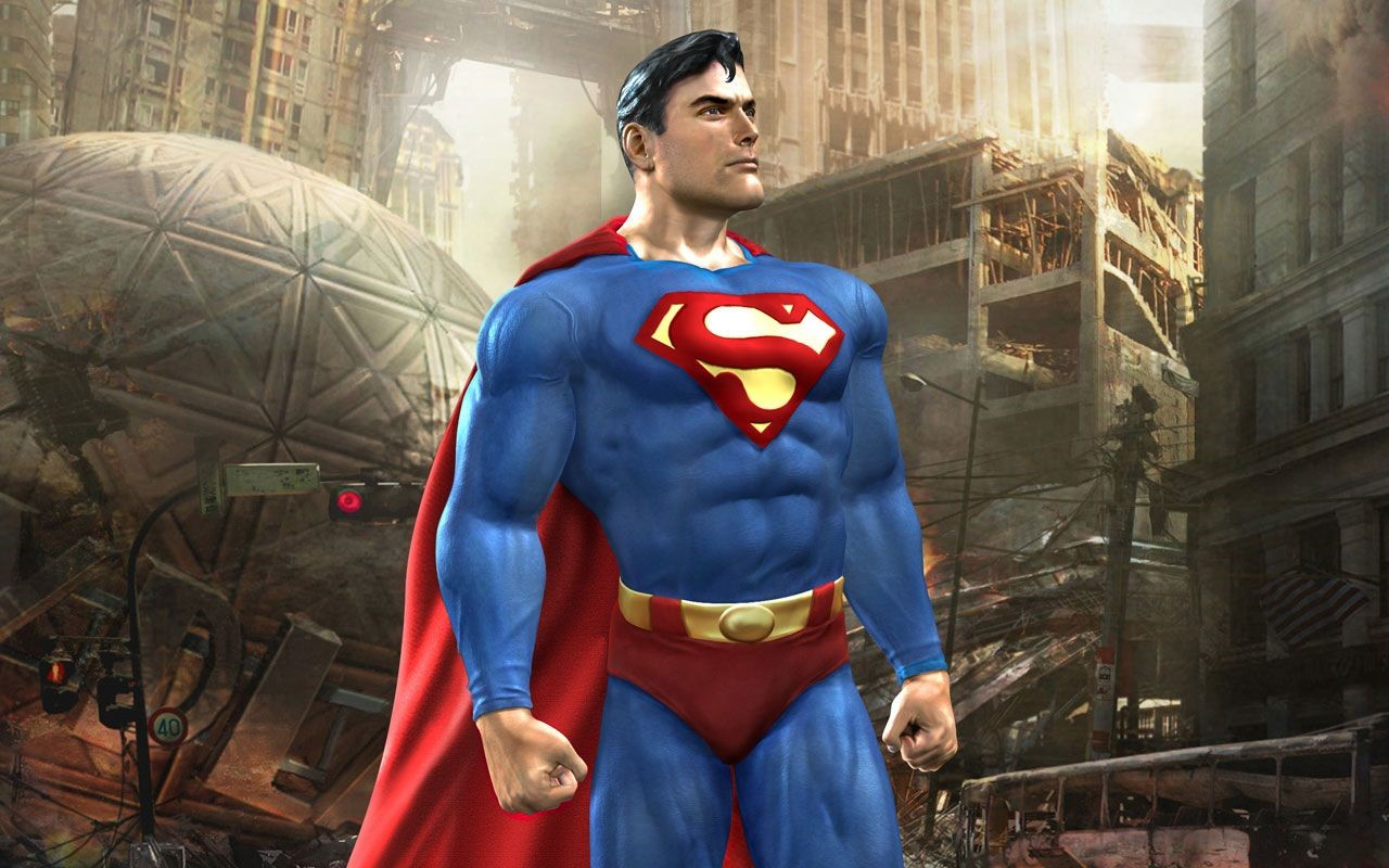 Superman Game 1080p Wallpapers