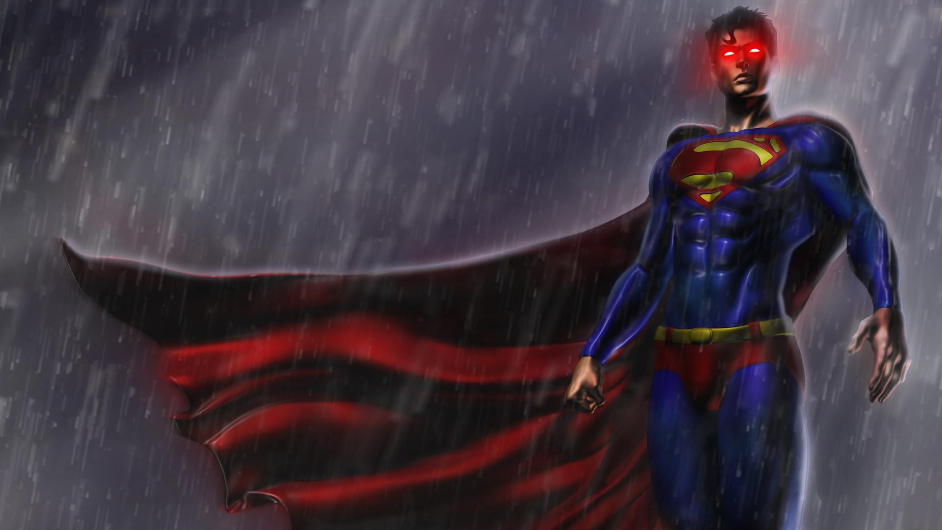 Superman Game HD Background