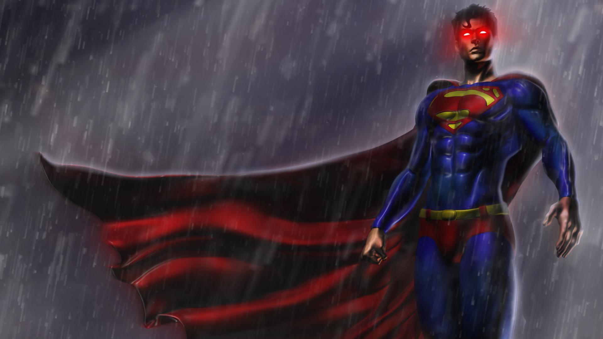 Superman Game HD Background