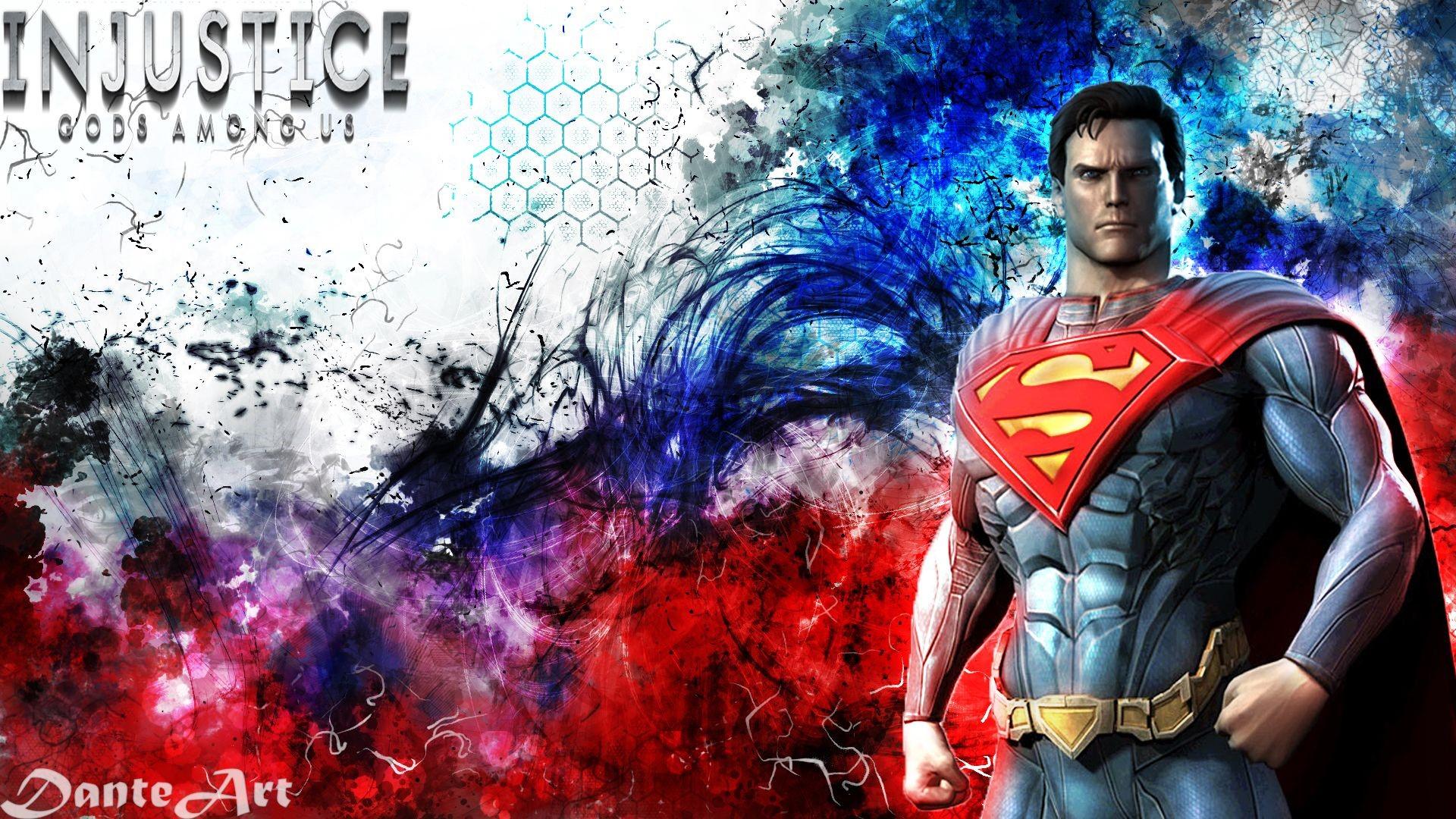 Superman Game Laptop Wallpaper