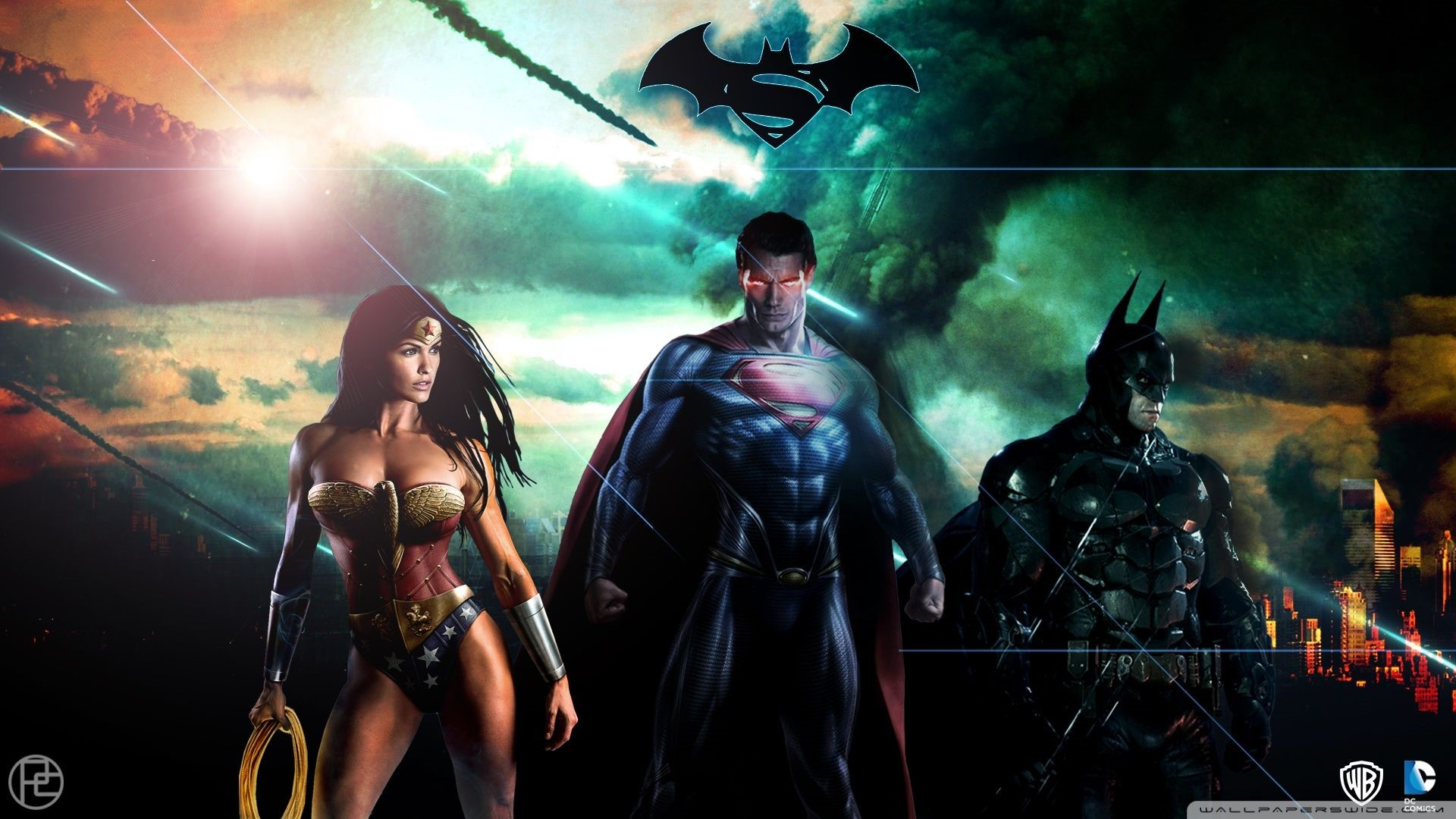 Superman Game Phone Wallpapers