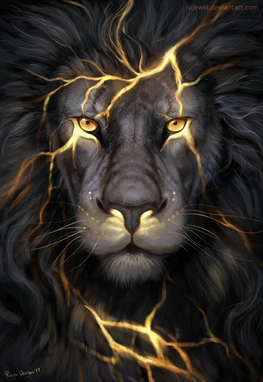 King Lion iPhone Wallpaper