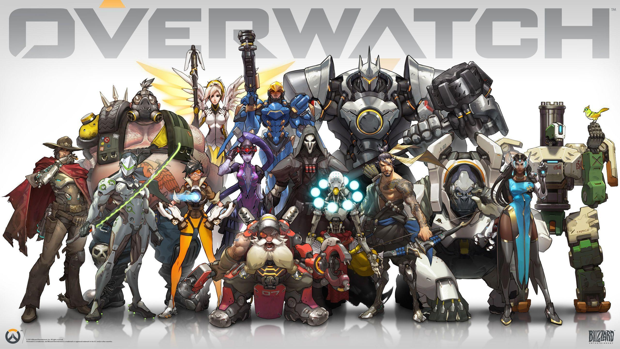 Ultra HD Overwatch Wallpapers