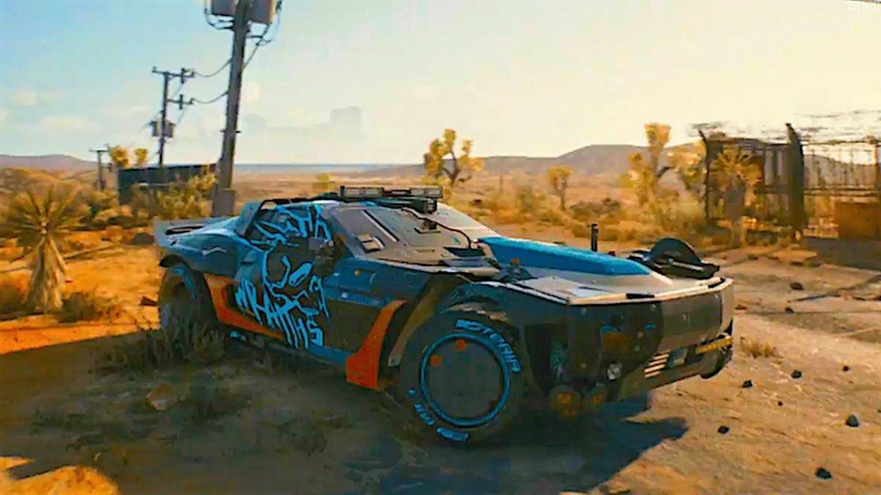 Cyberpunk 2077 HD Background Desktop Wallpapers