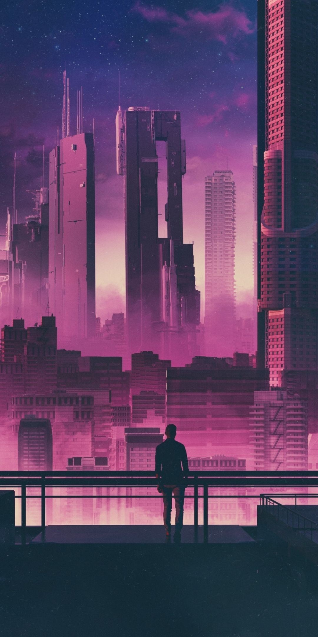 Cyberpunk Samsung Mobile Background Wallpaper