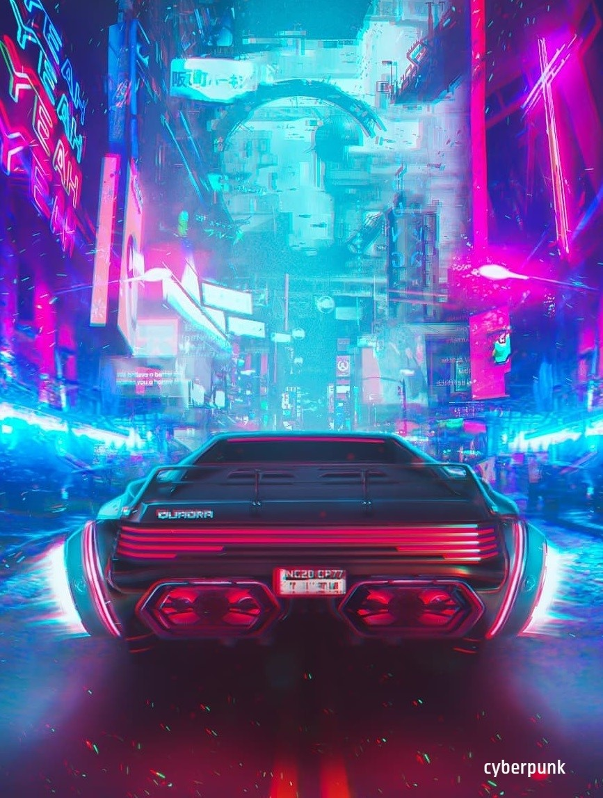 Cyberpunk iPhone Background Wallpapers